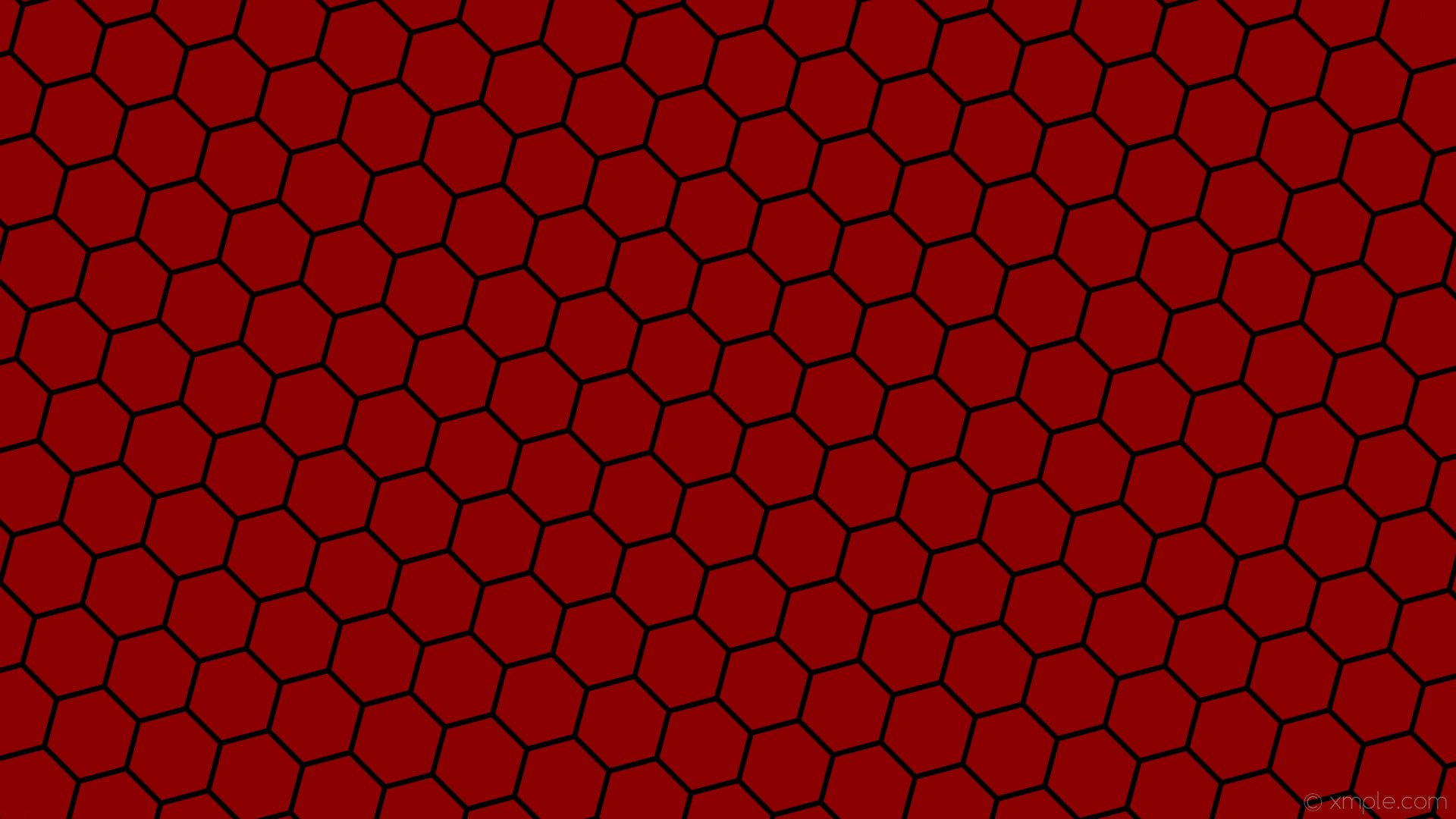 wallpaper beehive red black honeycomb hexagon dark red #8b0000 #000000  diagonal 45° 7px