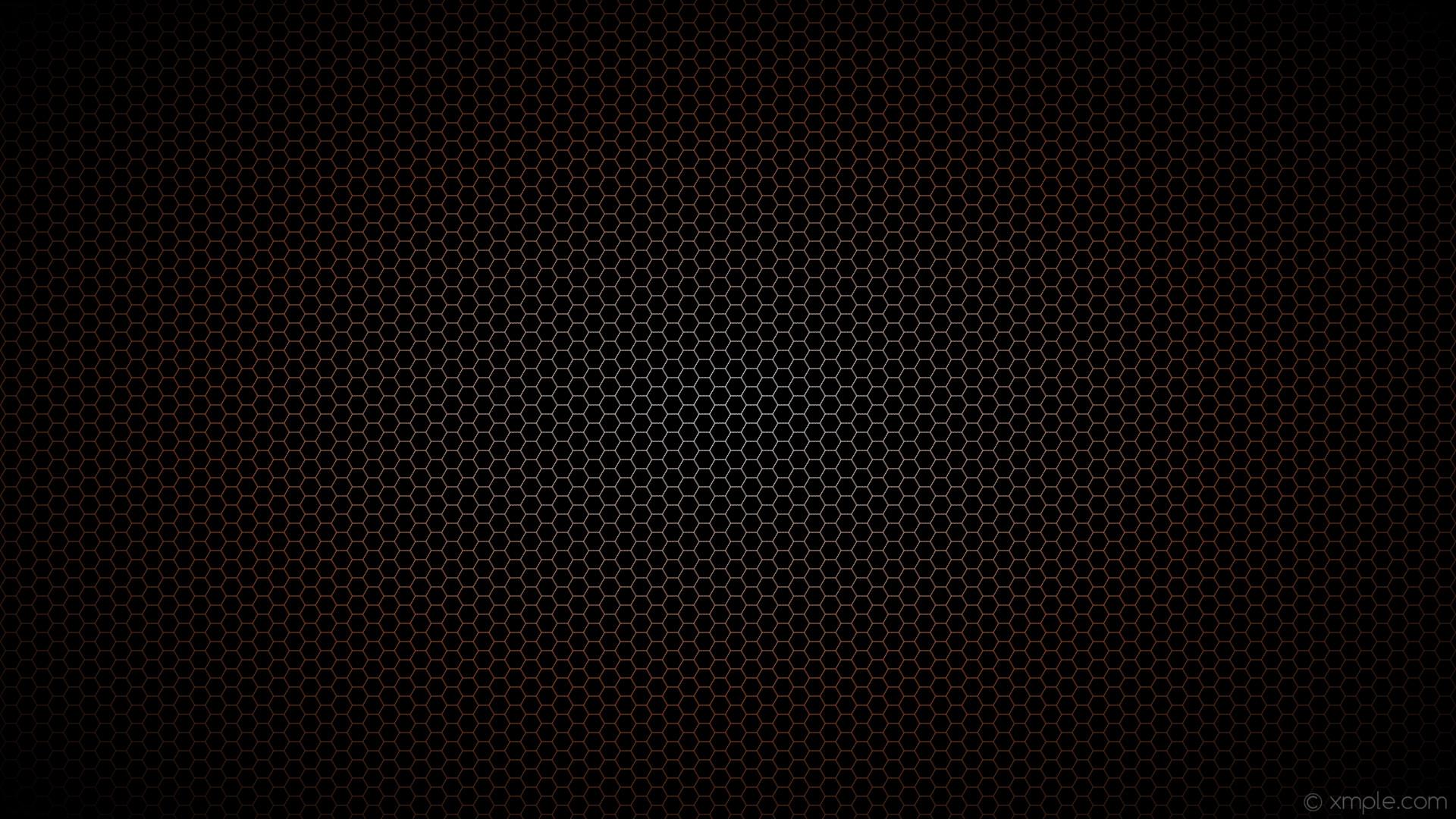 wallpaper black white glow brown hexagon gradient sienna #000000 #ffffff  #a0522d diagonal 30