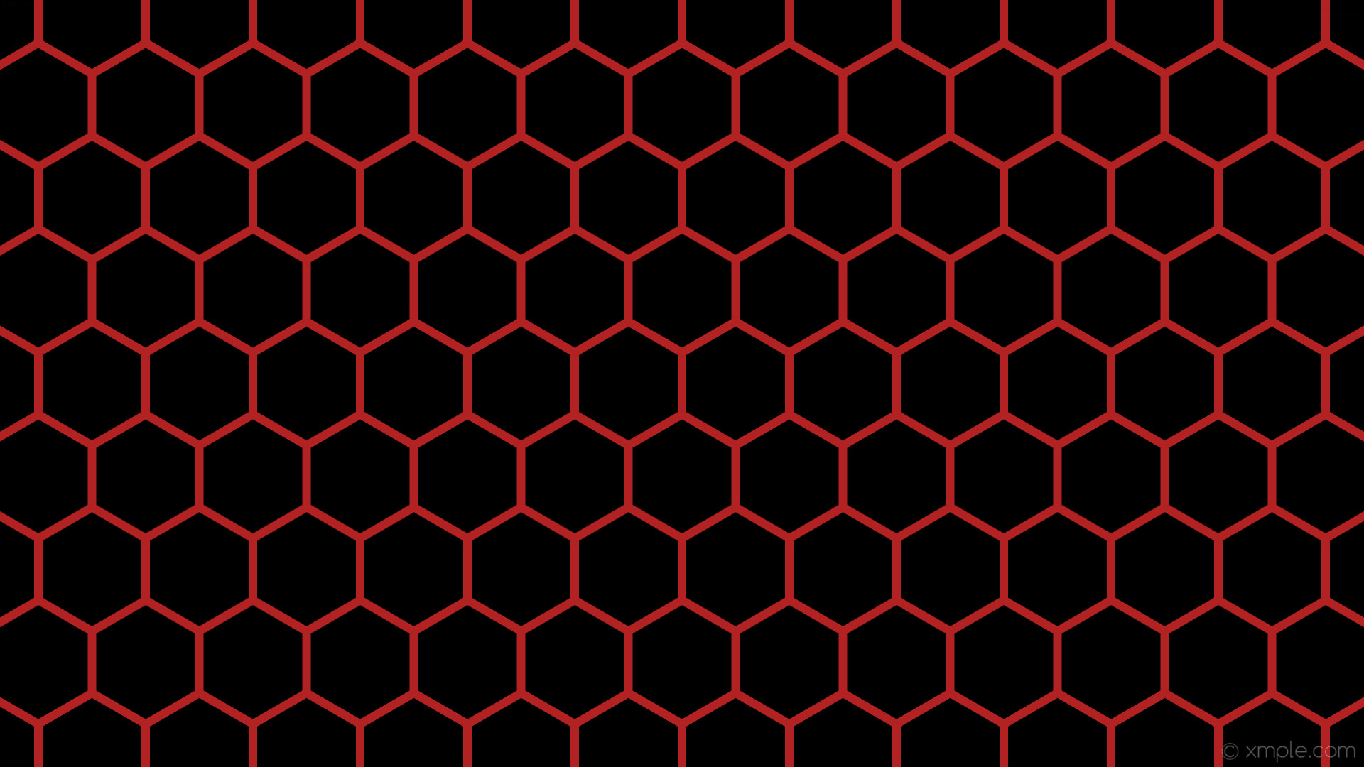 wallpaper beehive red honeycomb hexagon black fire brick #000000 #b22222 0°  12px 151px