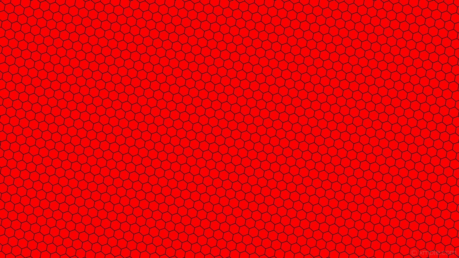 wallpaper beehive hexagon red honeycomb black #ff0000 #000000 diagonal 50°  2px 41px