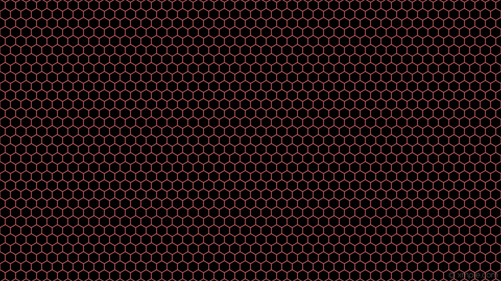 wallpaper red honeycomb black hexagon beehive indian red #000000 #cd5c5c 0°  3px 40px