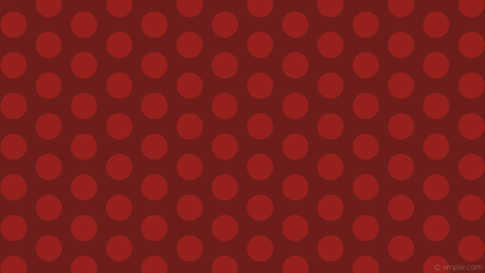 wallpaper hexagon red polka dots #6e1e1a #96201b diagonal 30° 104px 161px
