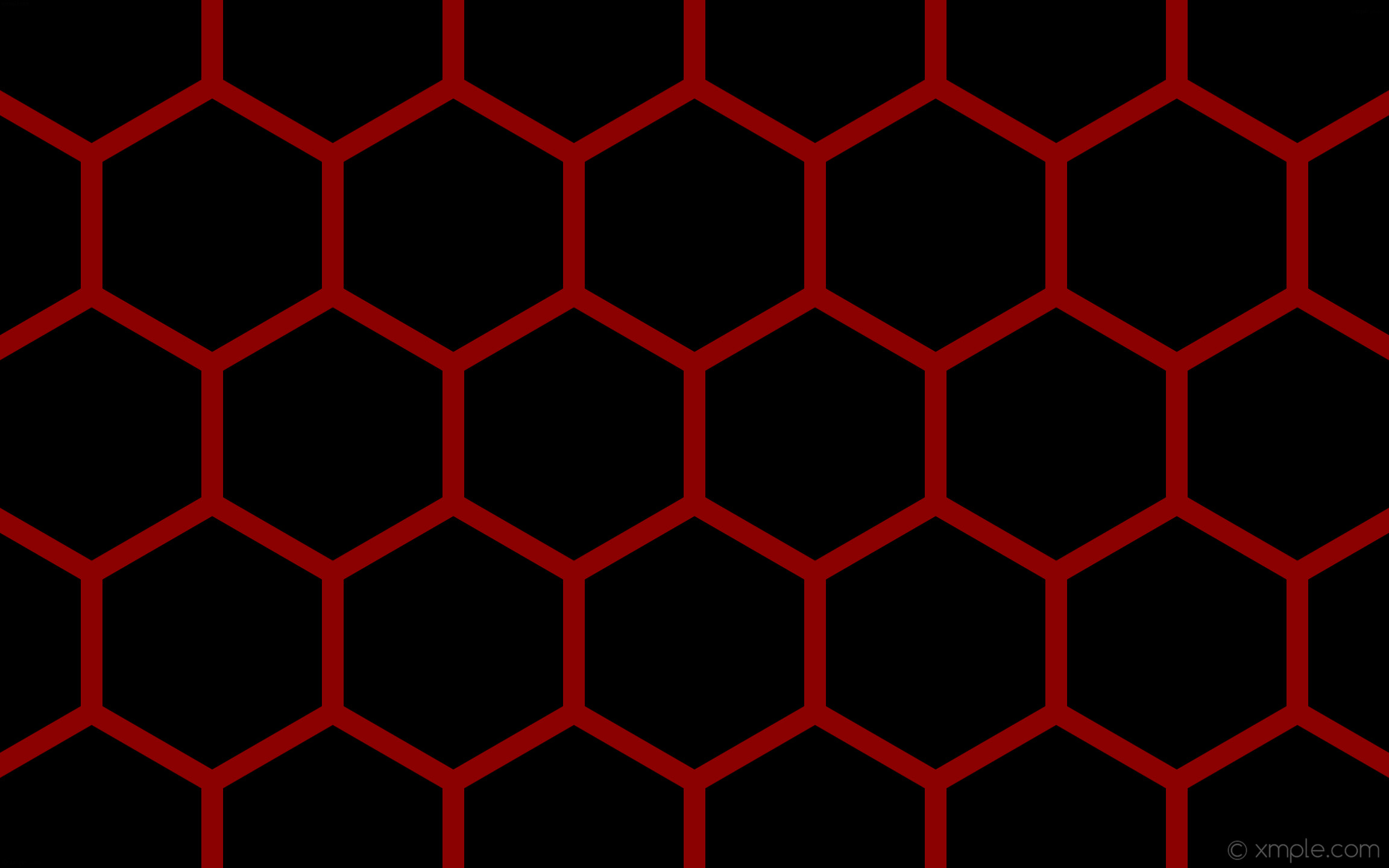 wallpaper beehive honeycomb black red hexagon dark red #000000 #8b0000 0°  36px 400px