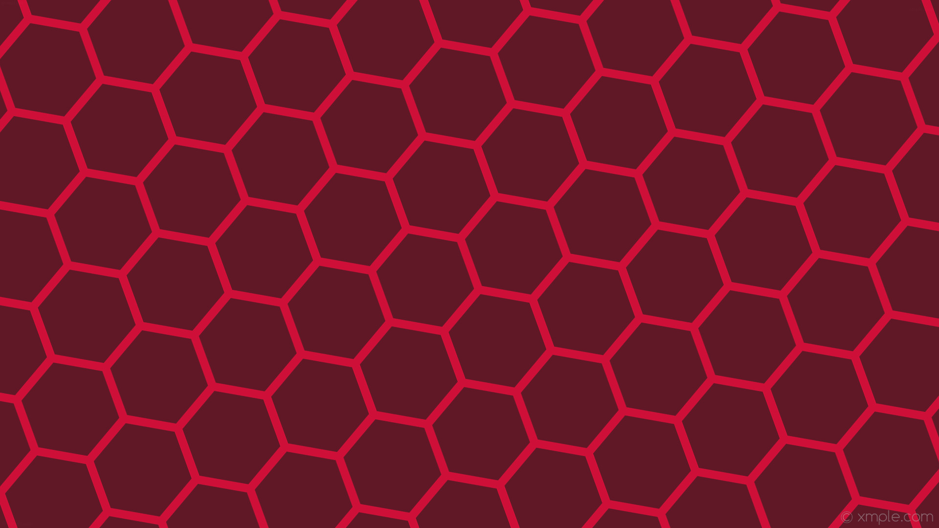 wallpaper beehive red honeycomb hexagon #601827 #ce1038 diagonal 20° 17px  193px