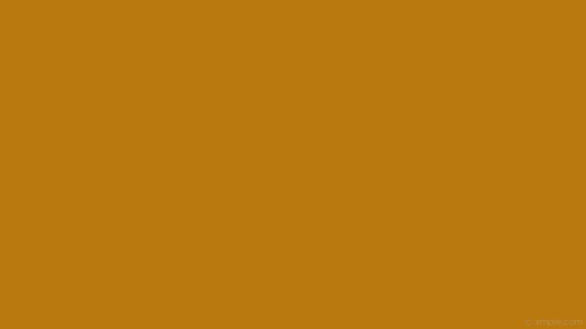 wallpaper one colour solid color single plain orange #b9790f