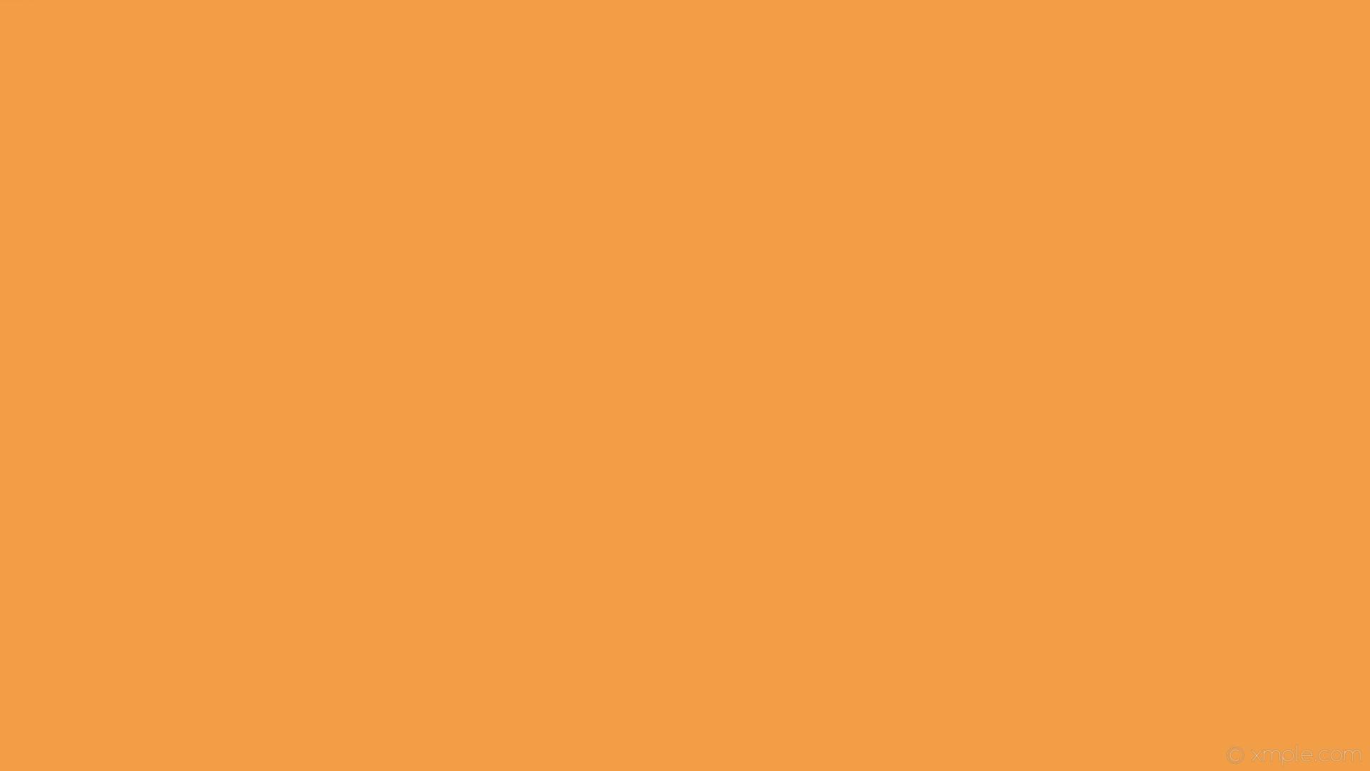 wallpaper single orange plain one colour solid color #f19e46