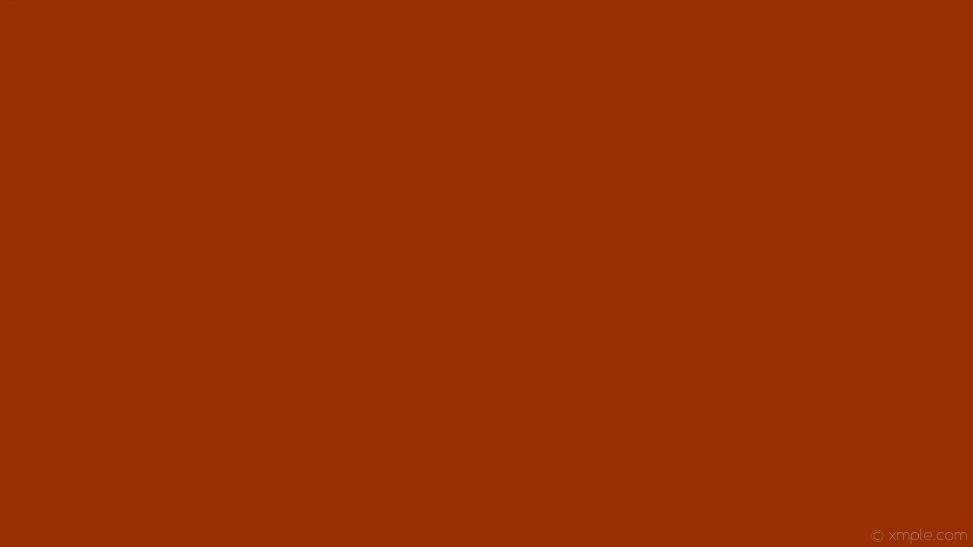 wallpaper orange plain one colour solid color single #992e01