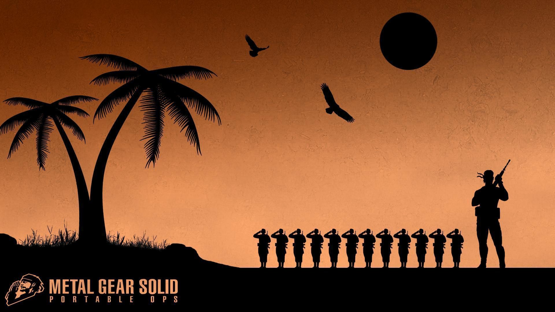 2 Metal Gear Solid: Portable Ops Wallpapers | Metal Gear Solid .