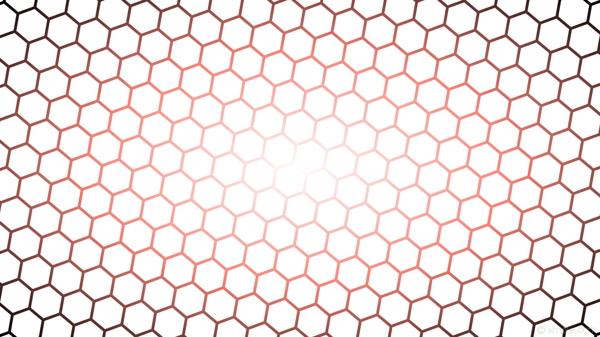 wallpaper glow hexagon black red gradient white #ffffff #ffffff