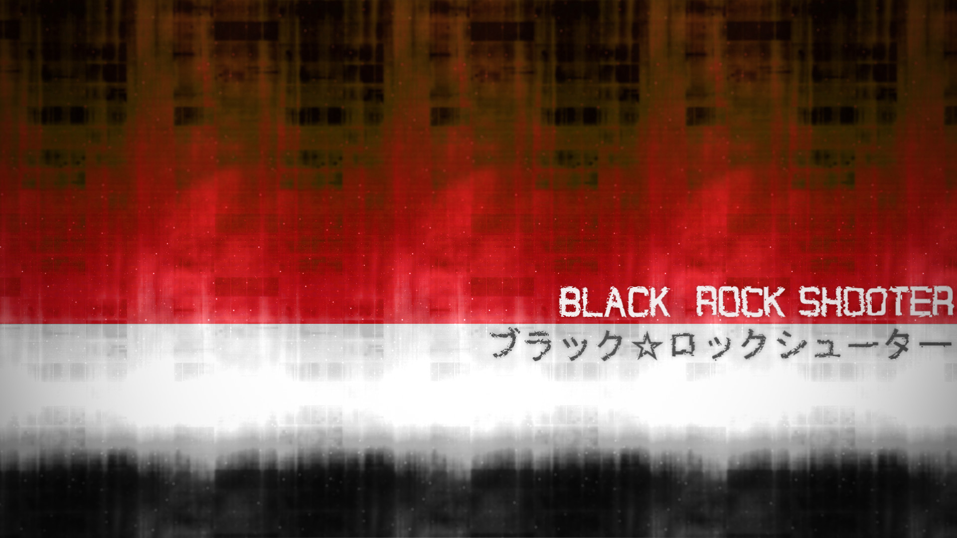 … Black Rock Shooter Wallpaper (Red/White) by Seenkoo
