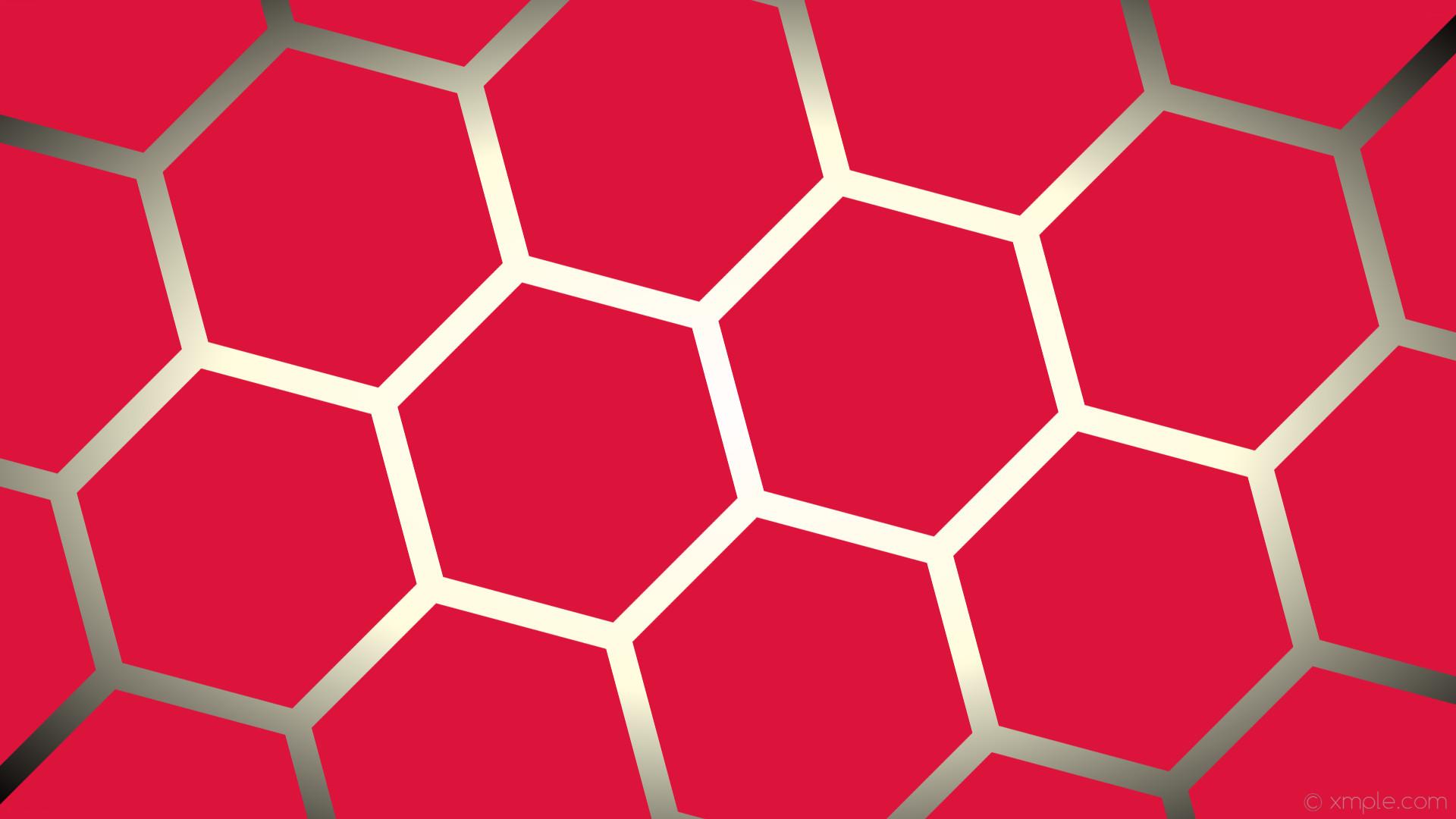 wallpaper red white gradient yellow hexagon glow black crimson light yellow  #dc143c #ffffff #