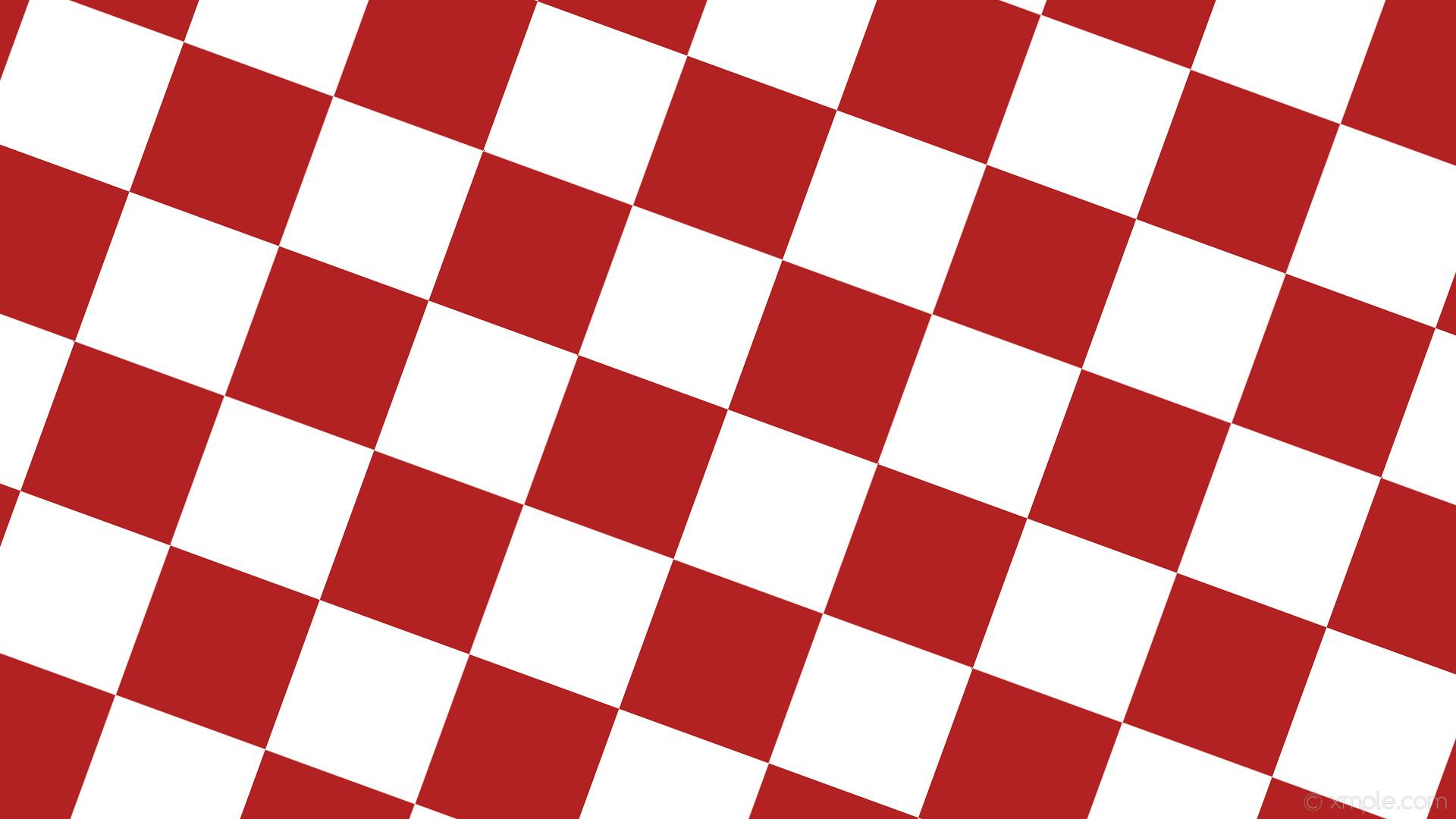 wallpaper red white checkered squares fire brick #b22222 #ffffff diagonal  70° 210px