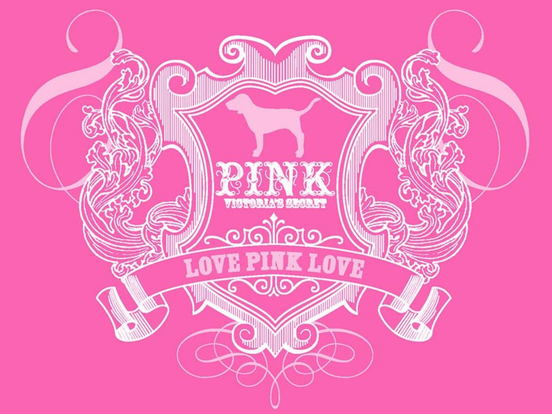 victorias secret pink wallpaper for walls