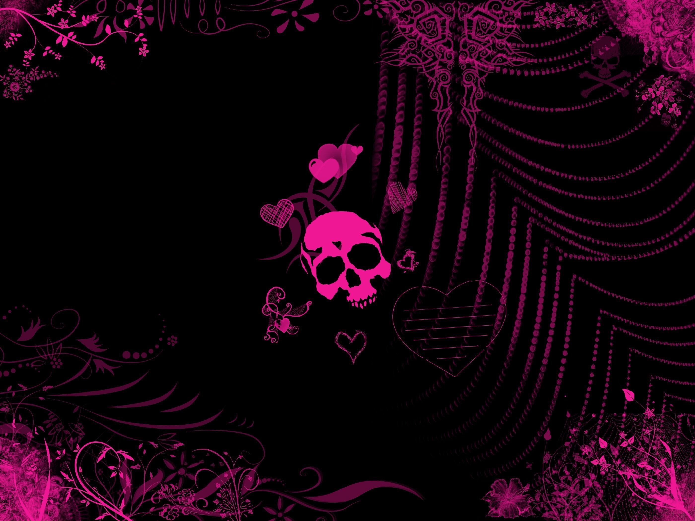 Gallery for – black girly wallpapers