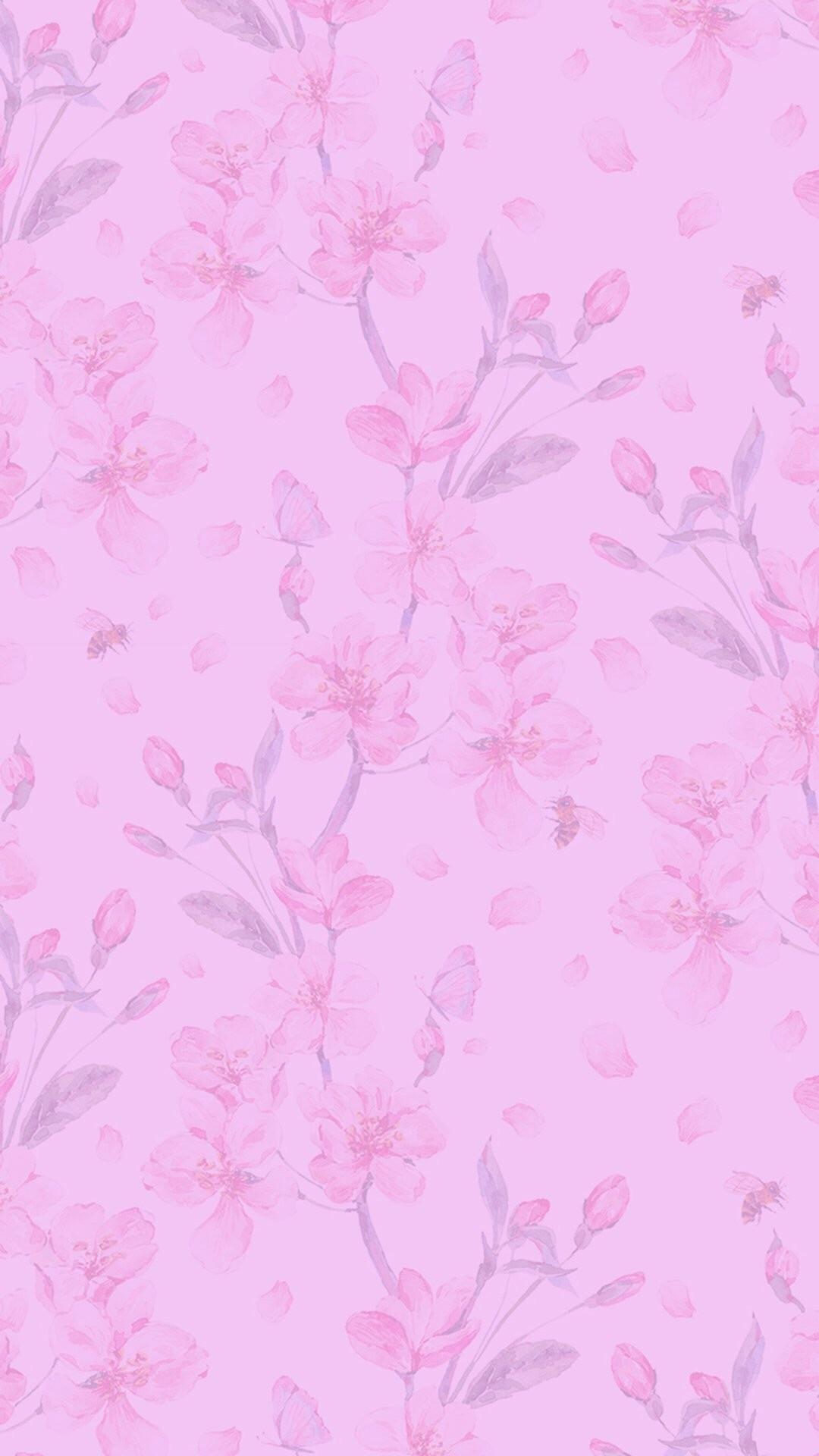 Pink Wallpaper, Smartphone, Pastel, Girly, Walls, Wall