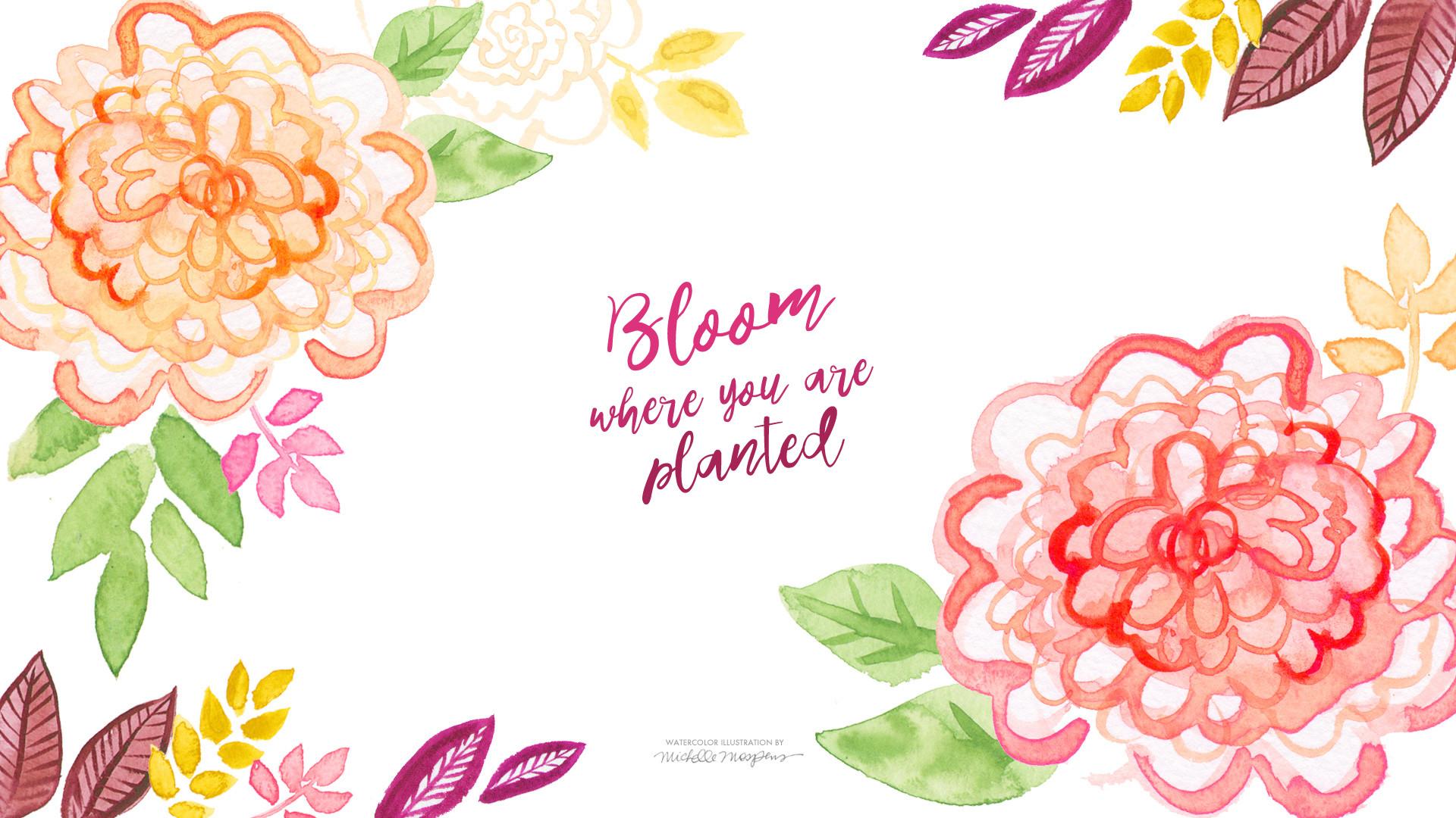 floral desktop wallpaper – Google Search