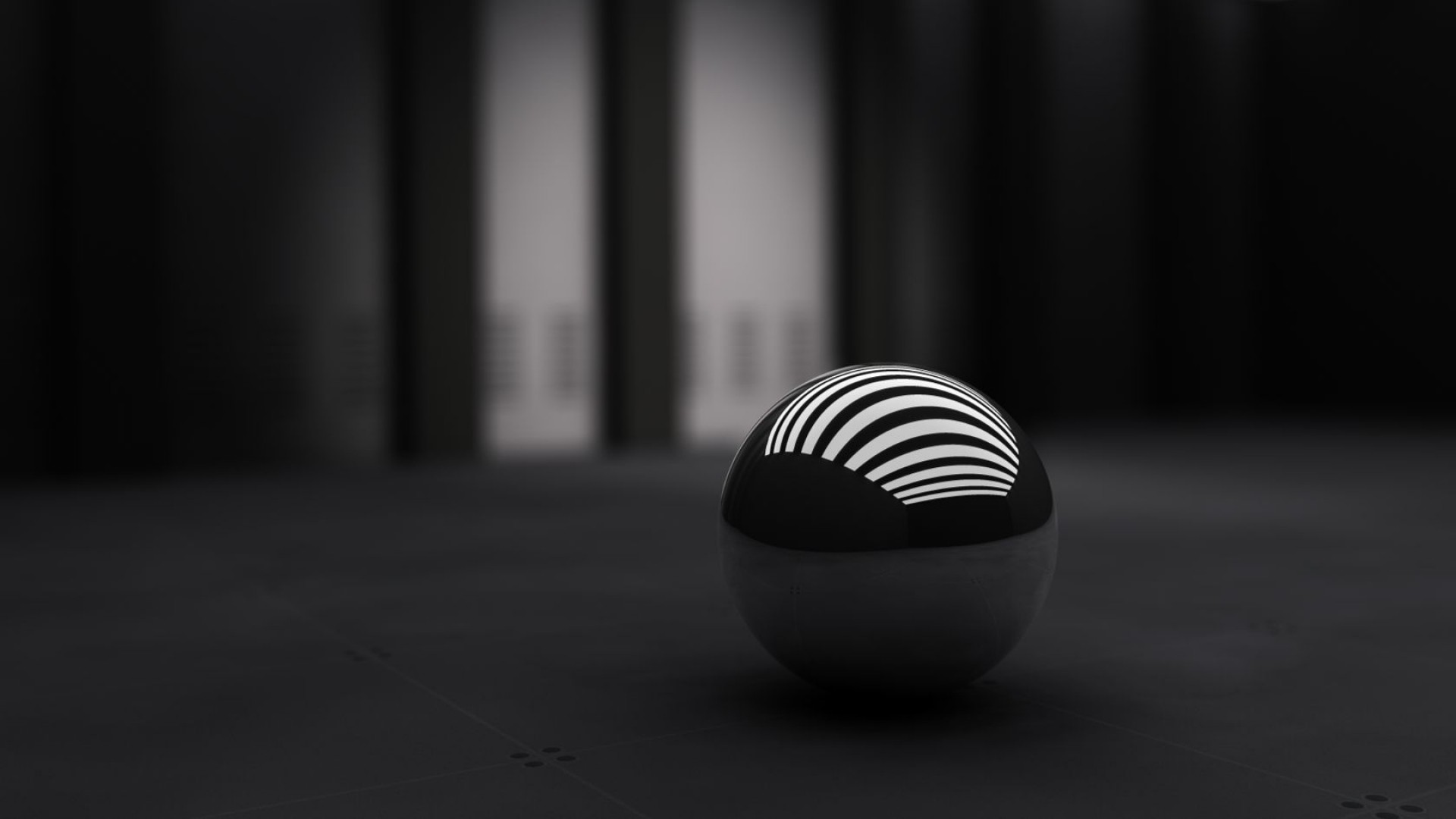Wallpaper black, ball, band, white