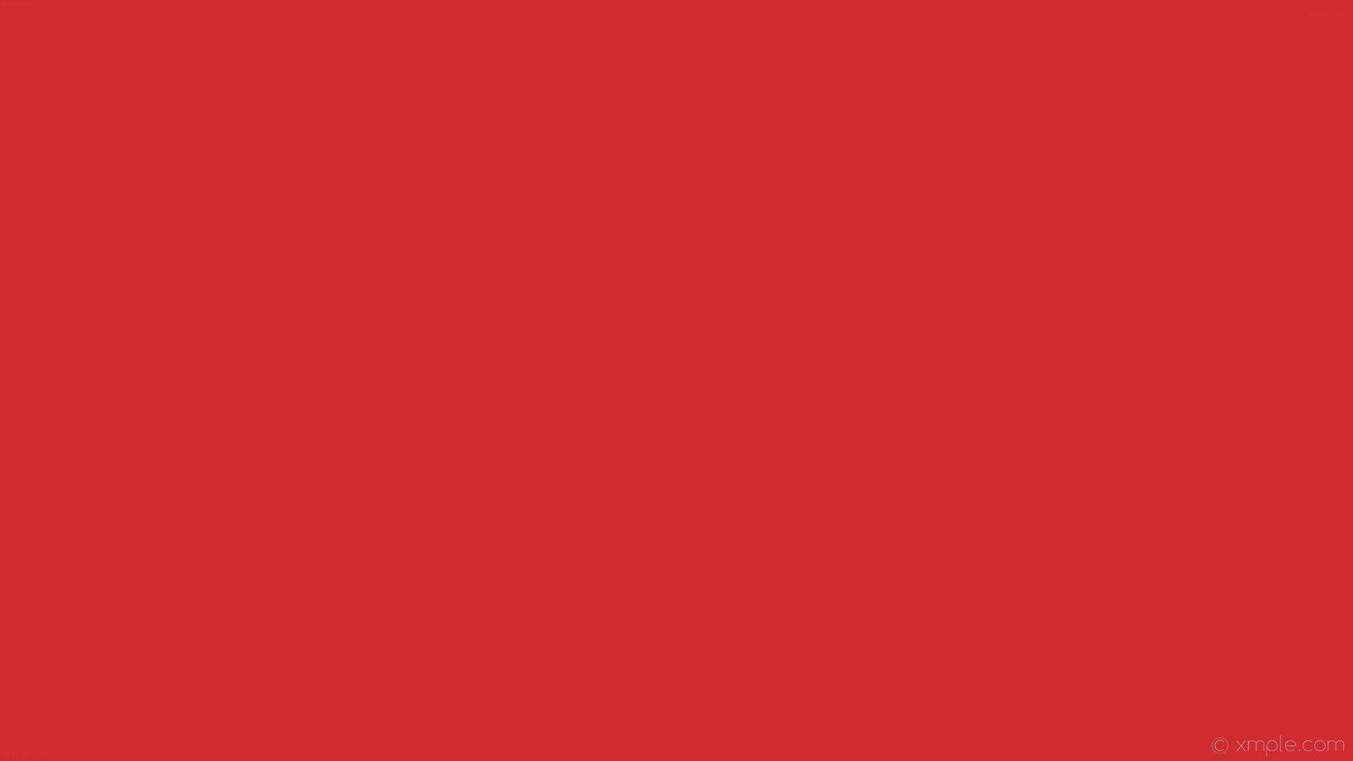 Wallpaper plain one colour single solid color red #d02c2f