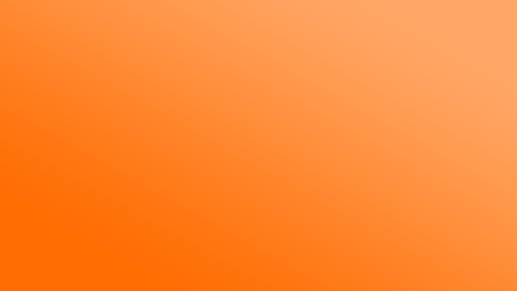 Preview wallpaper orange, white, solid, colorful 2048×1152