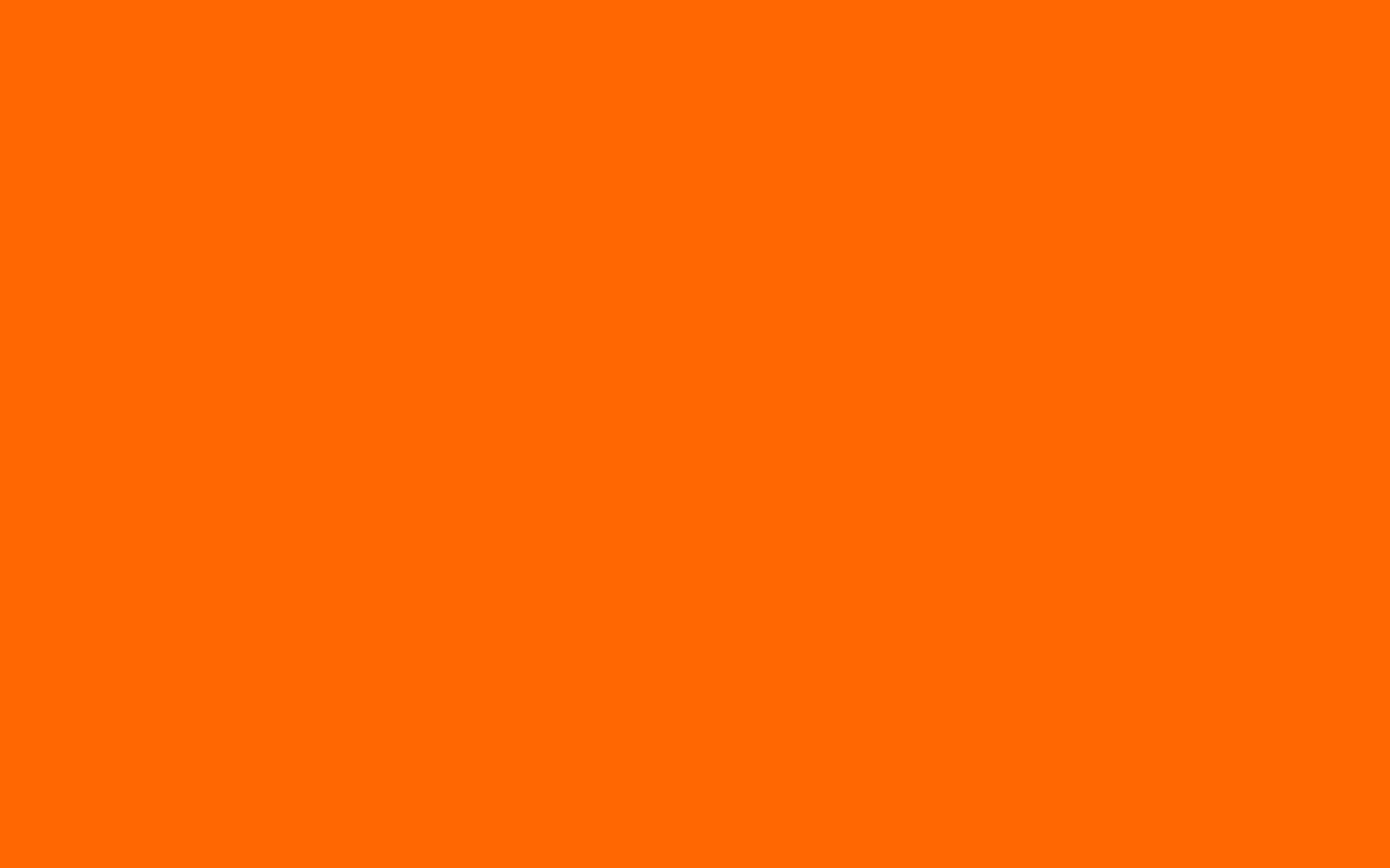 Orange Blaze Orange Solid Color Background