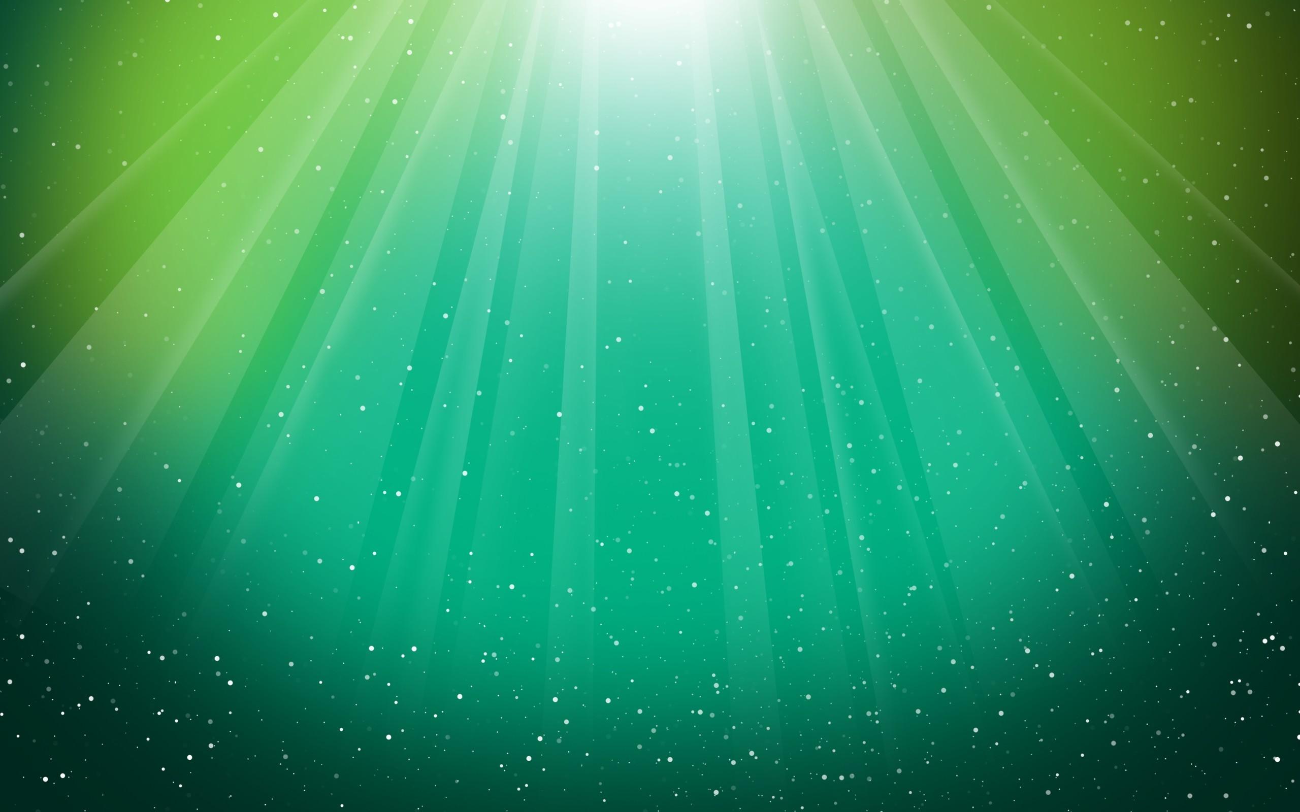 Wallpaper Light, Shiny, Green, Lines, Fan