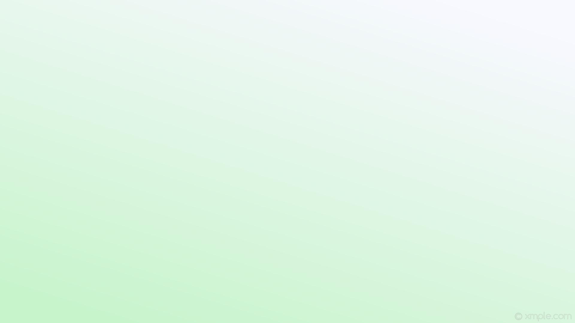 wallpaper linear green gradient white light green ghost white #c8f4cc  #f8f8ff 225°