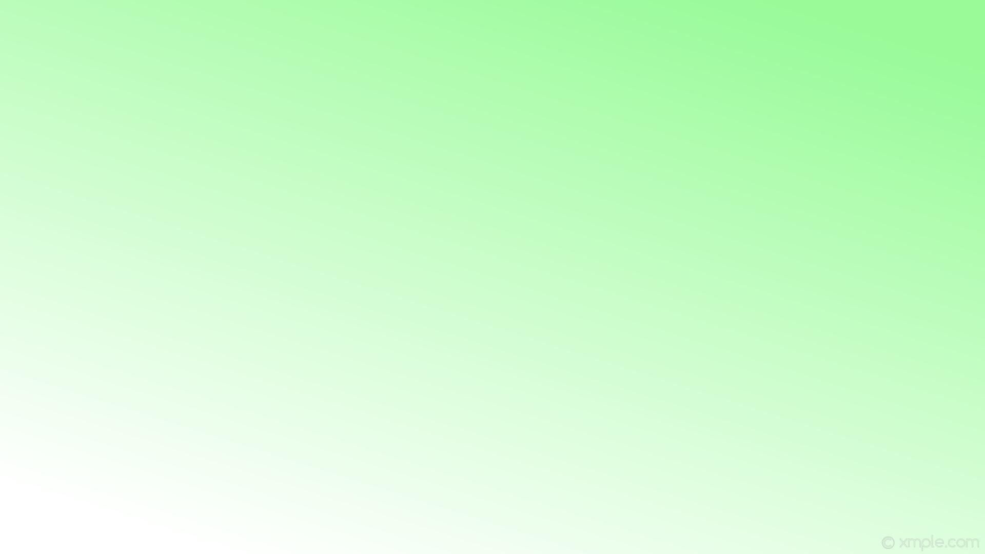 wallpaper linear green gradient white pale green #98fb98 #ffffff 45°