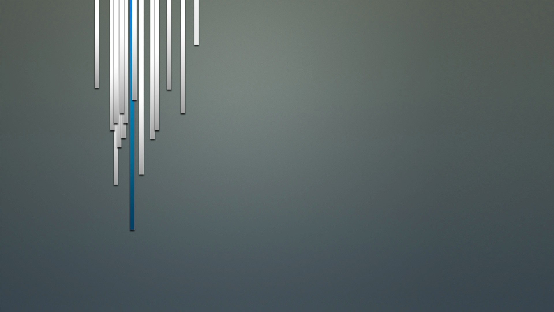 Preview wallpaper gray, blue, white, line, surface 1920×1080