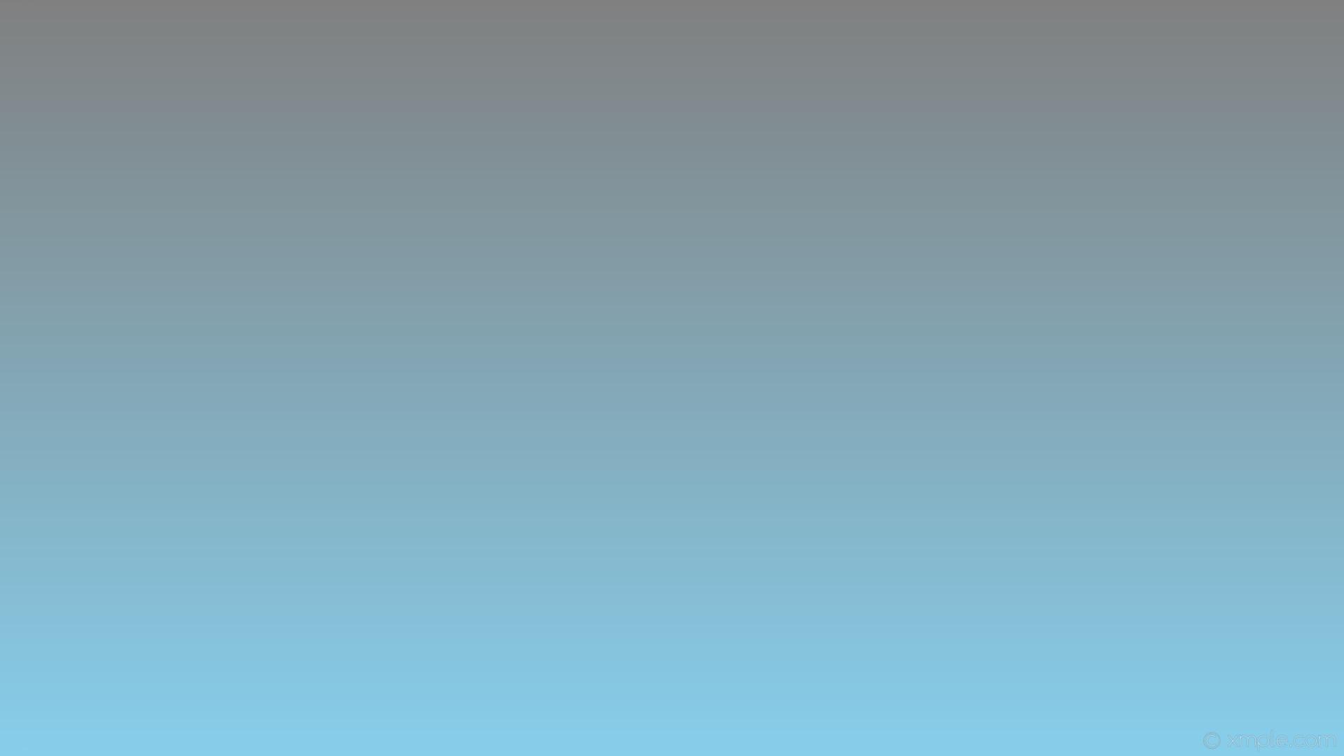 wallpaper blue grey gradient linear sky blue gray #87ceeb #808080 270°