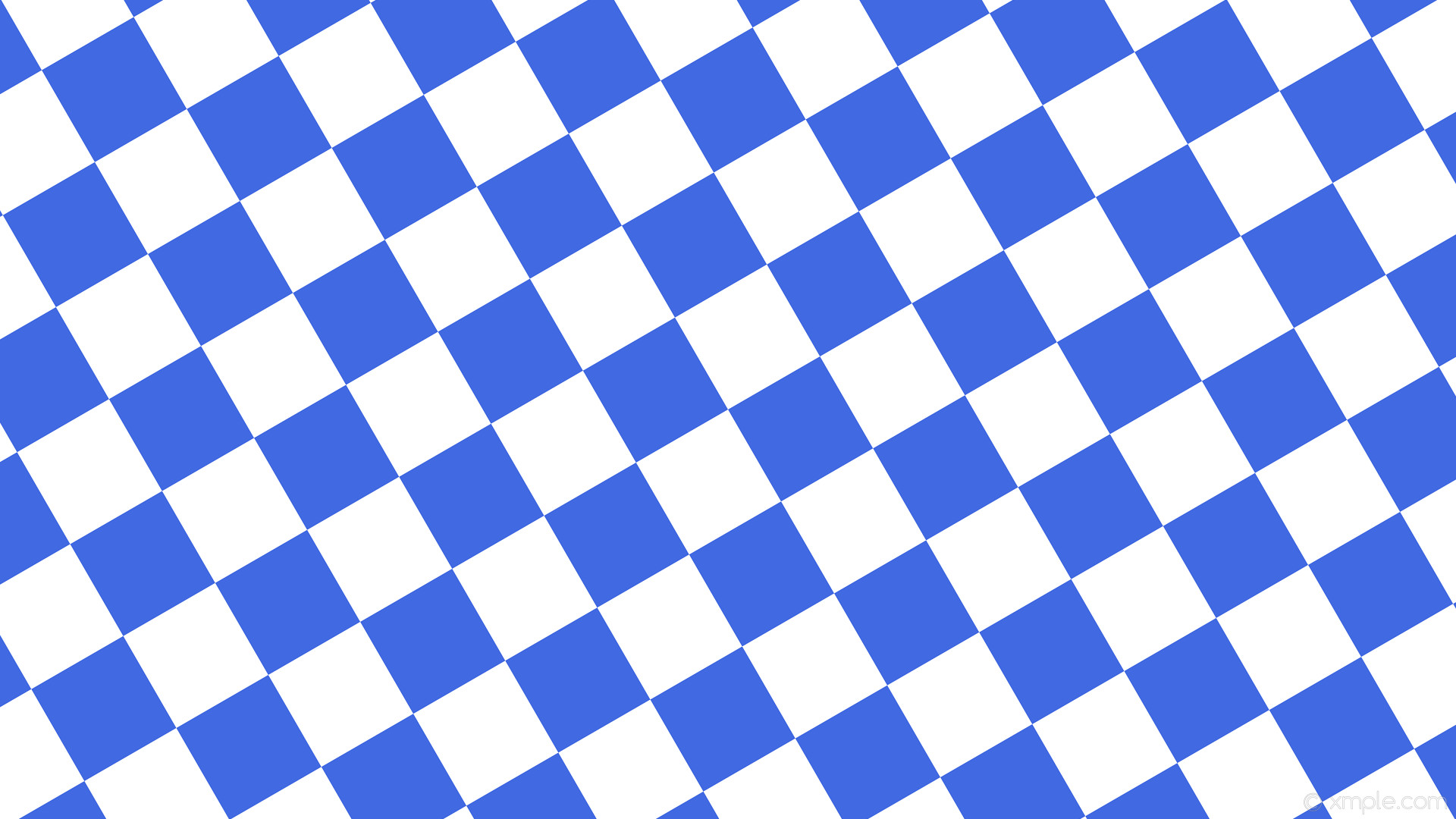 wallpaper squares checkered white blue royal blue #4169e1 #ffffff diagonal  30° 140px