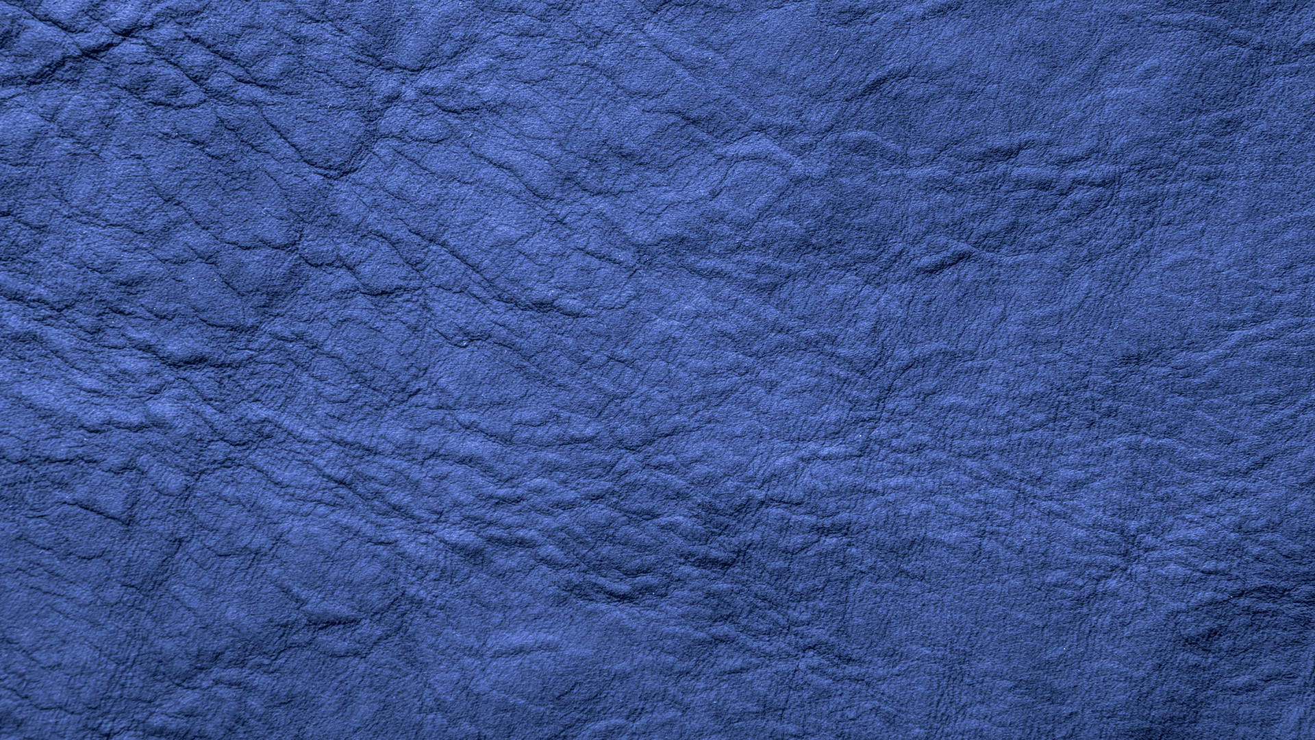 Blue Wrinkled Leather Background HD