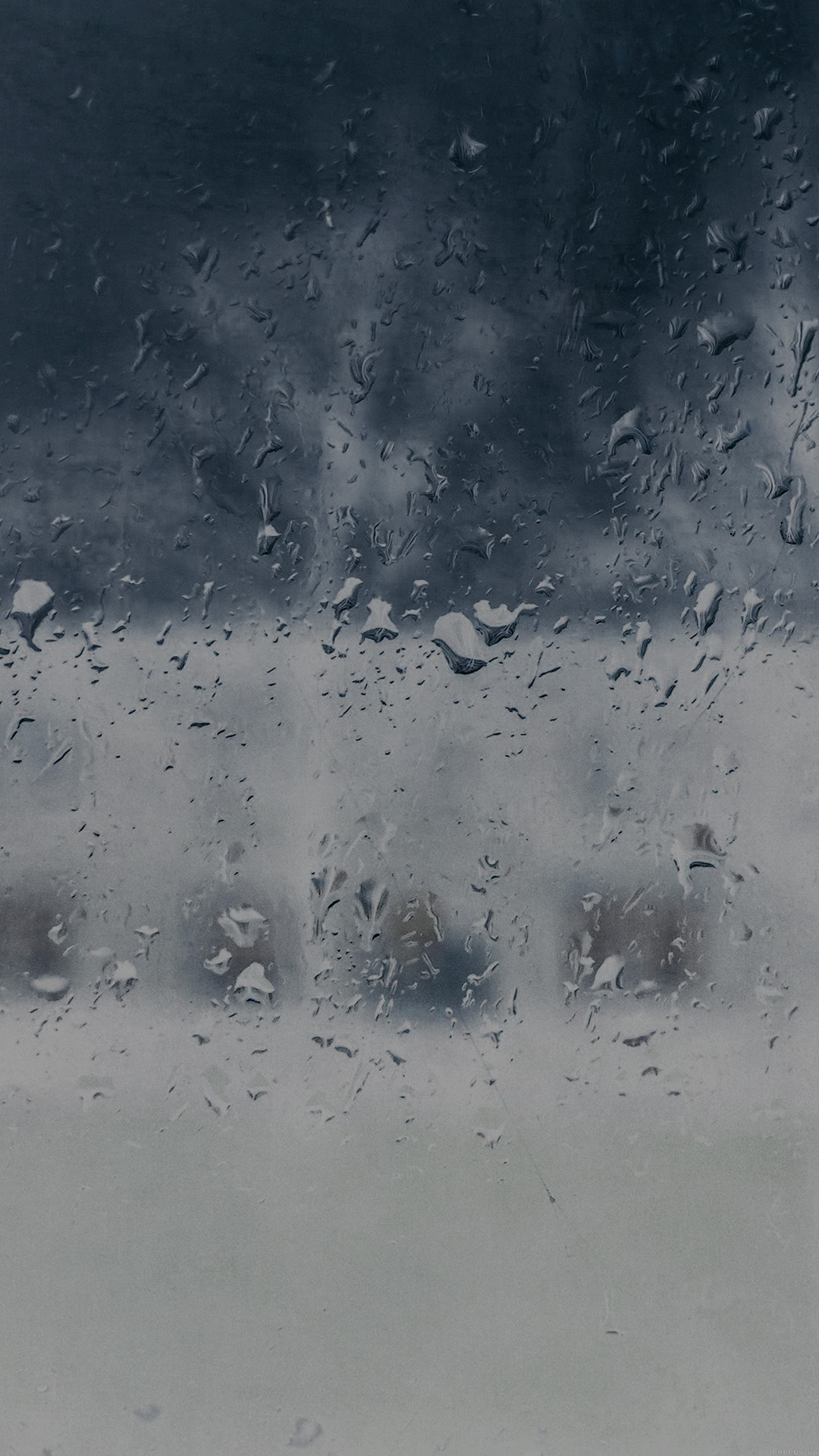 Good To Stay Home Blue Rainy Window #iPhone #7 #wallpaper