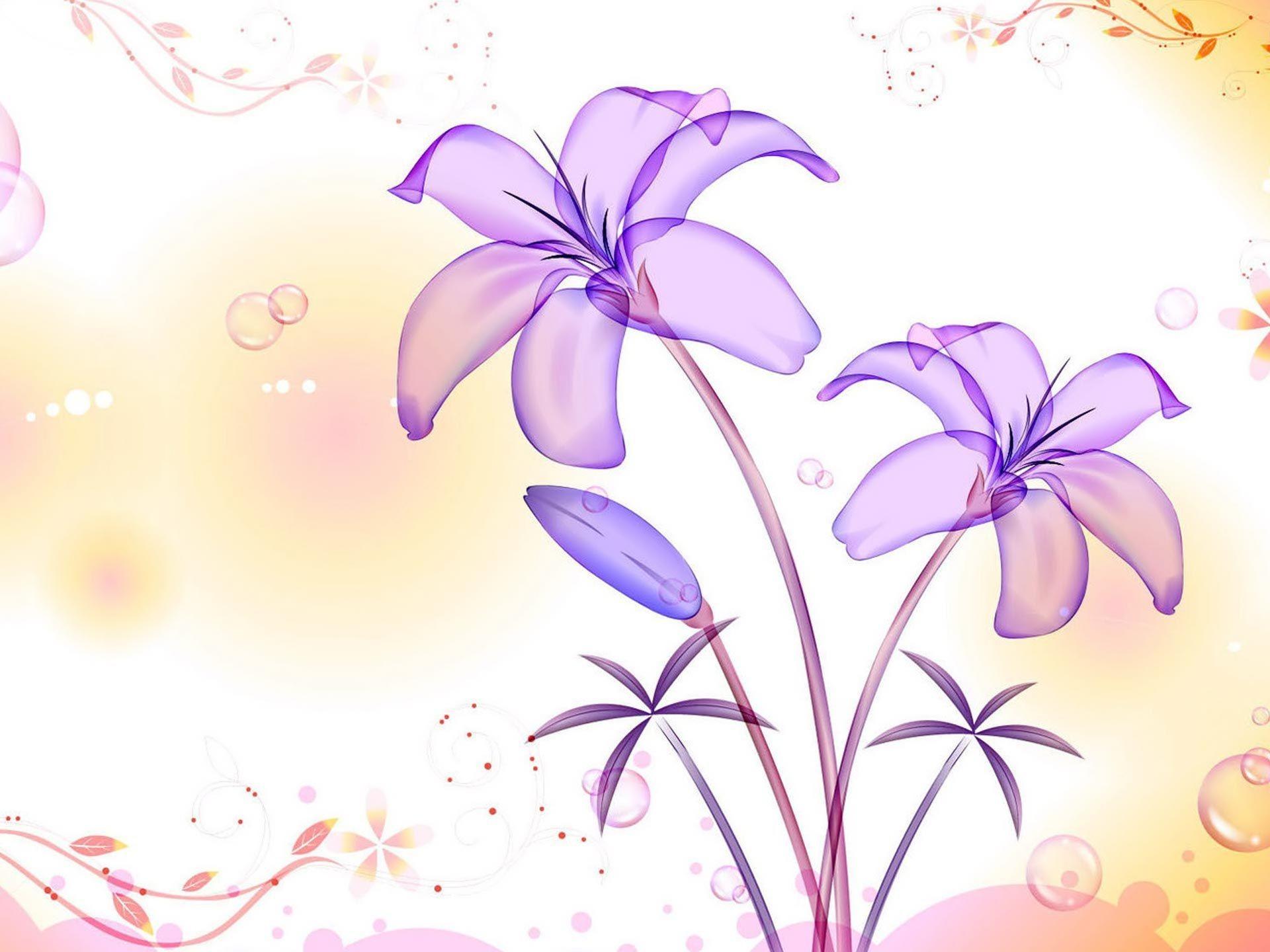 Light Purple Wallpaper Full HD Mekamak