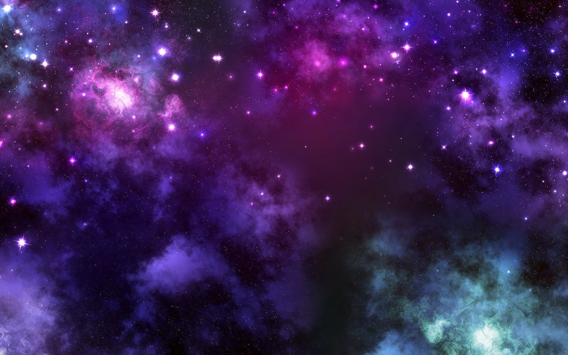 Wallpapers For > Light Purple Galaxy Background