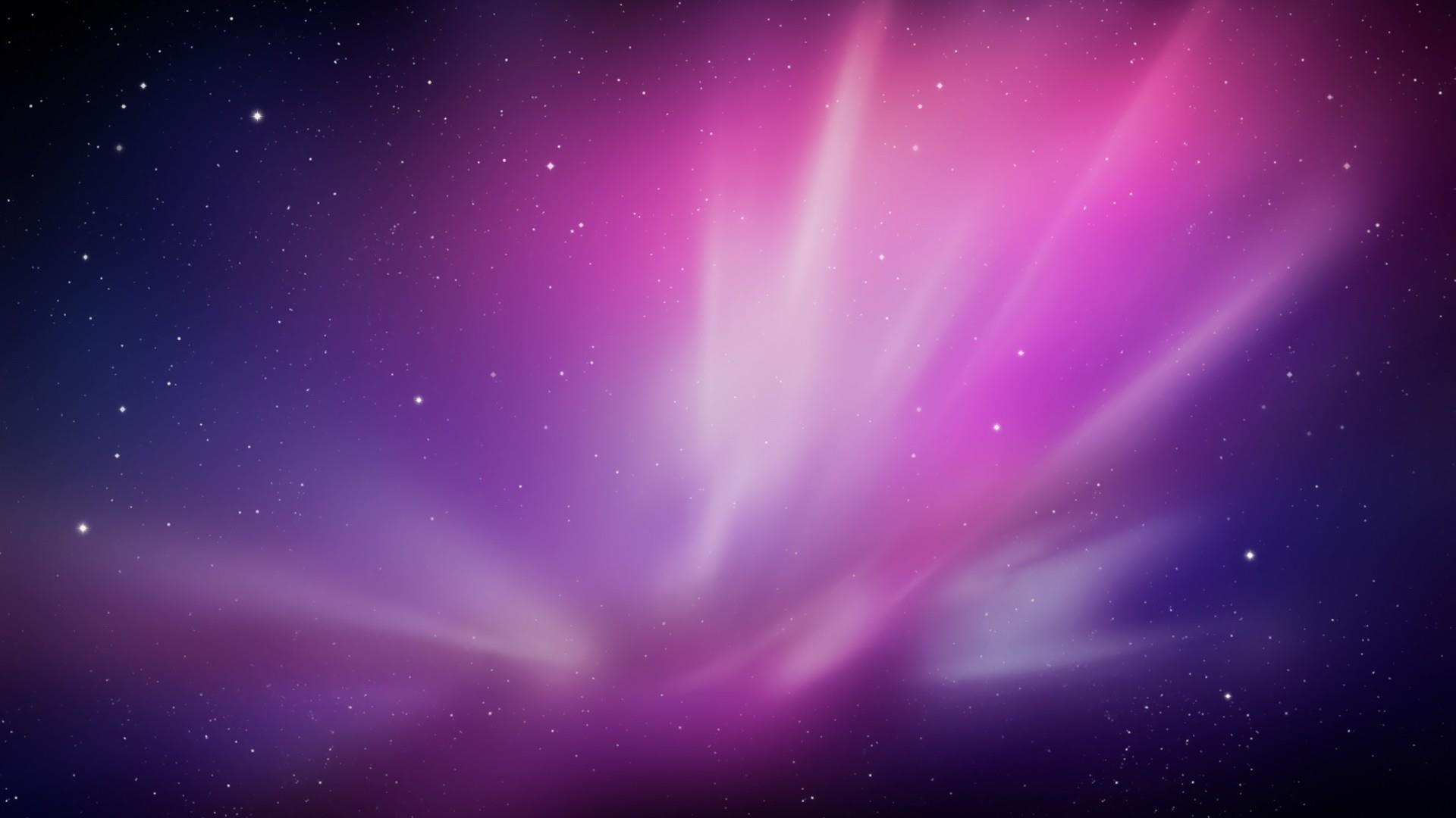 Title. Purple galaxy