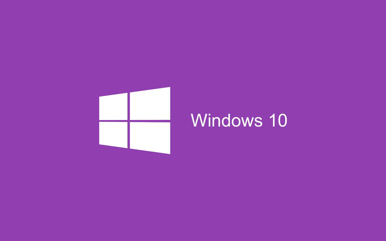 Light Purple Windows 10 Wallpaper HD 2880×1800