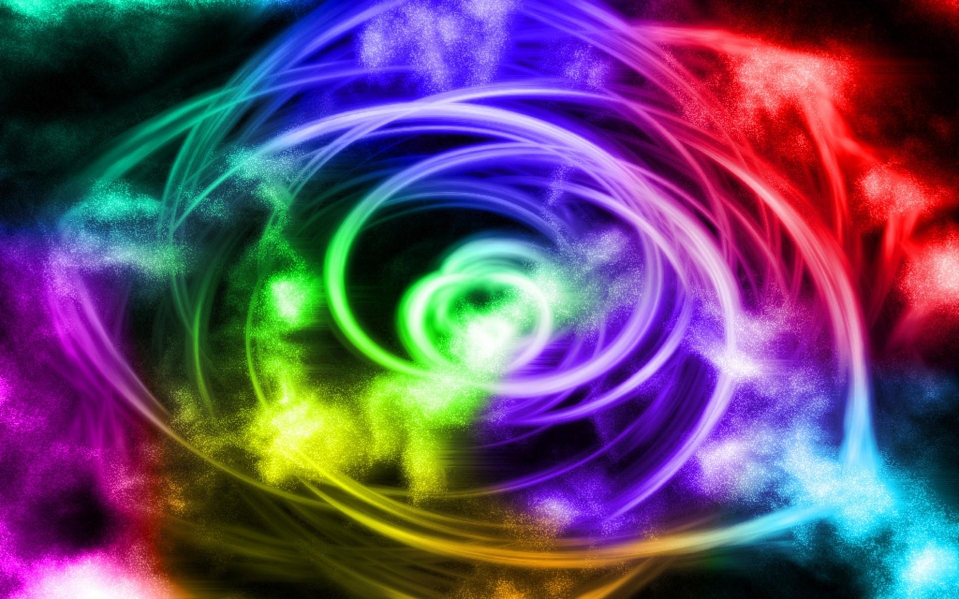 Rainbow swirls HD Wallpaper 1920×1080 Rainbow swirls HD Wallpaper 1920×1200