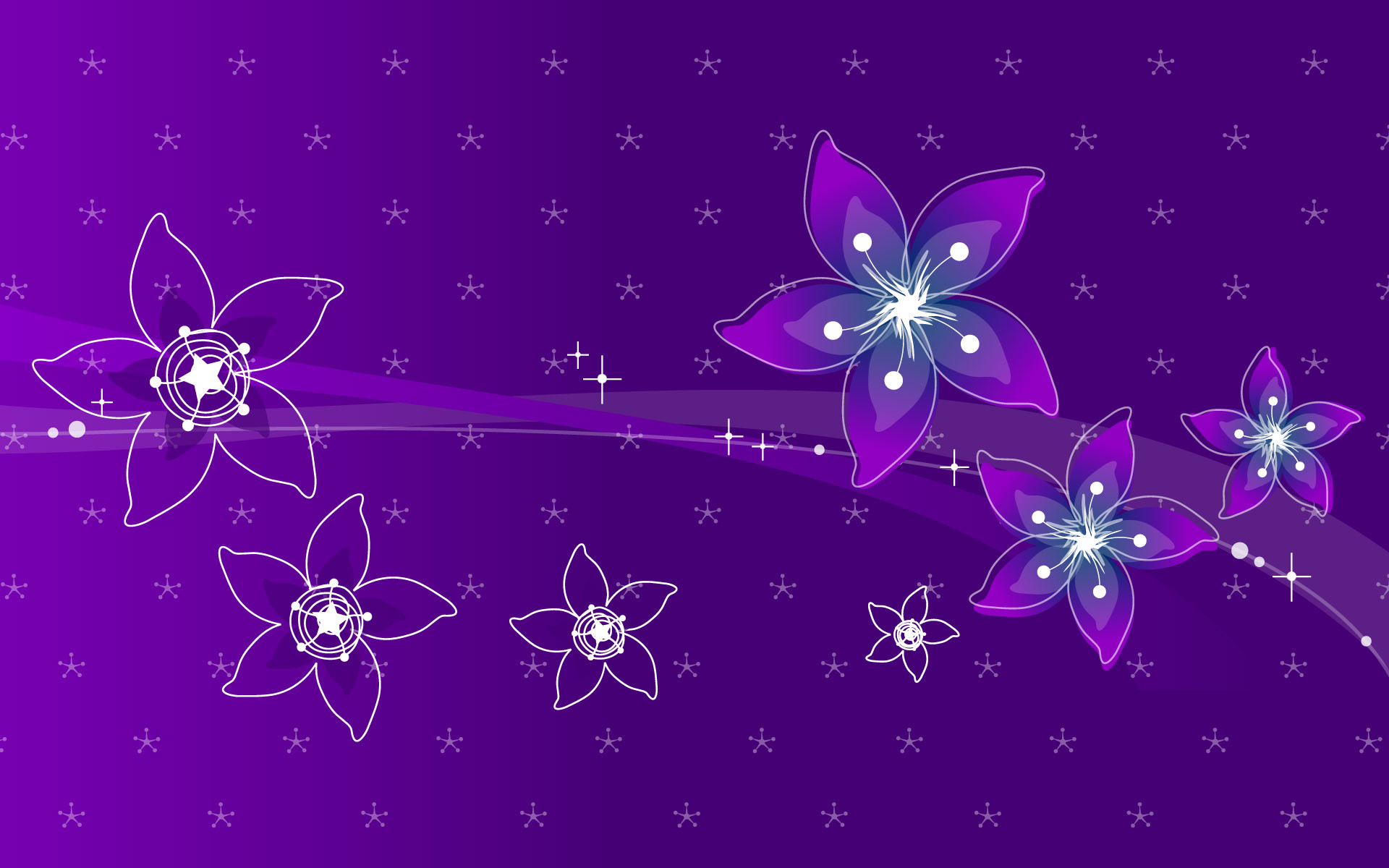 80 Abstract Flowers Design Wallpapers HD – Photo 1 of 80