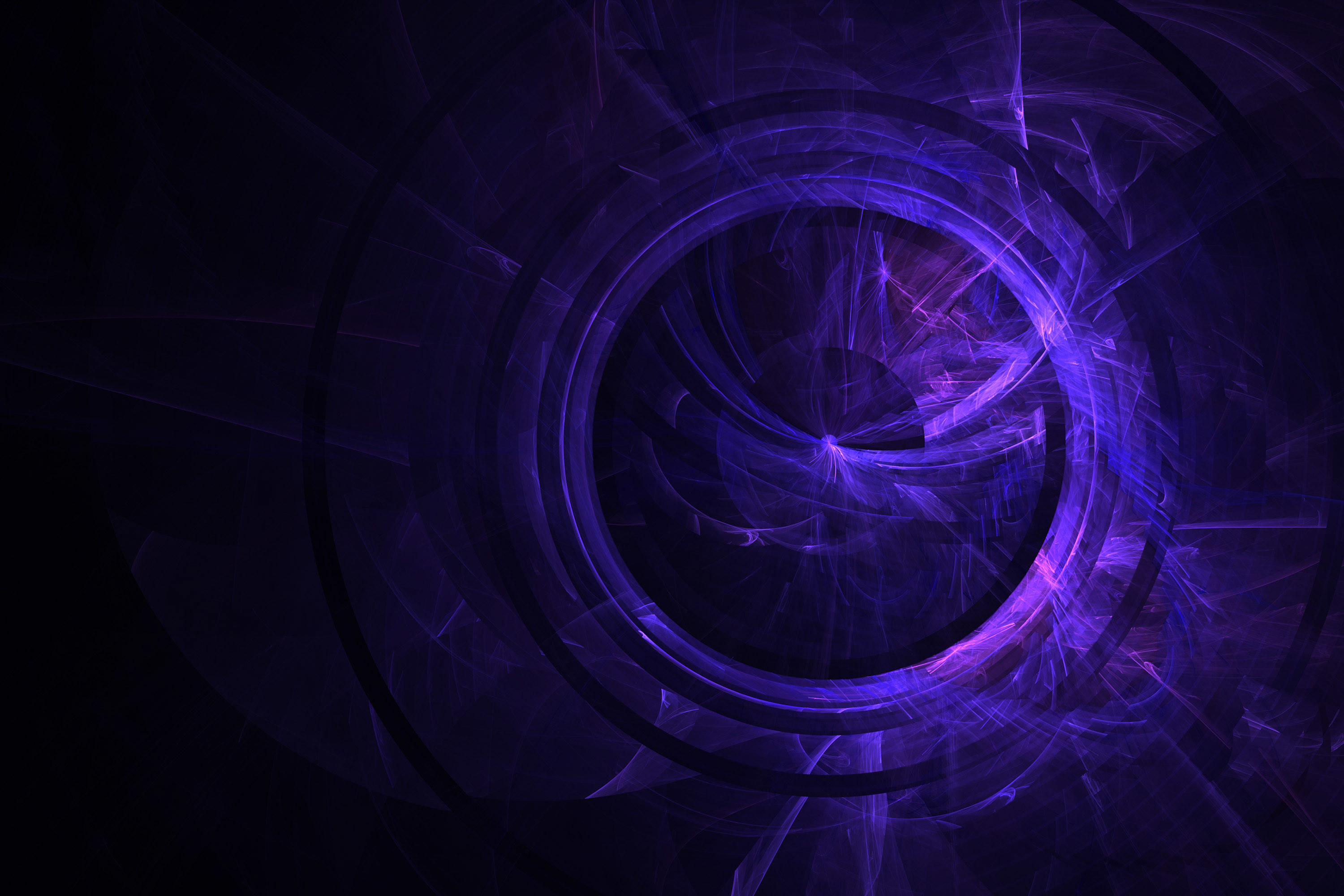 … fractal texture purple circle sphere rings abstract light wallpaper …