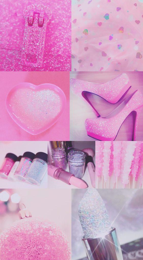 pink, purple, sparkly, glitter, glittery, iPhone, background, wallpaper
