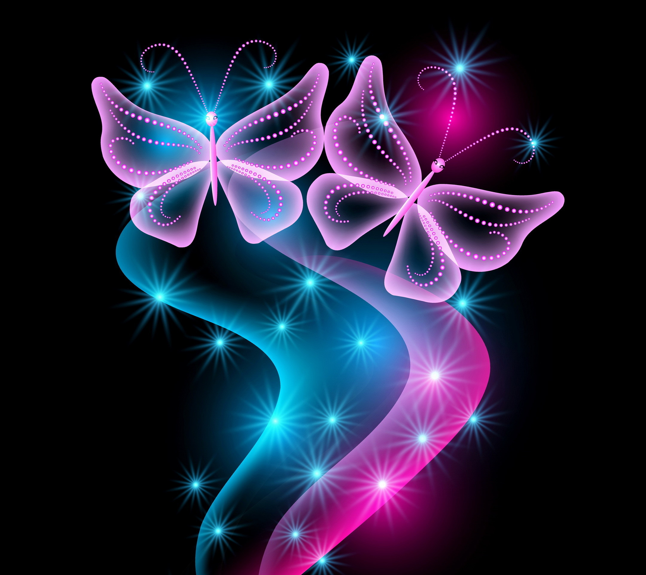 free butterfly wallpaper for kindle fire hd | … , pink, sparkle,