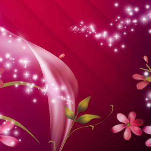 Pink and Purple Glitter
