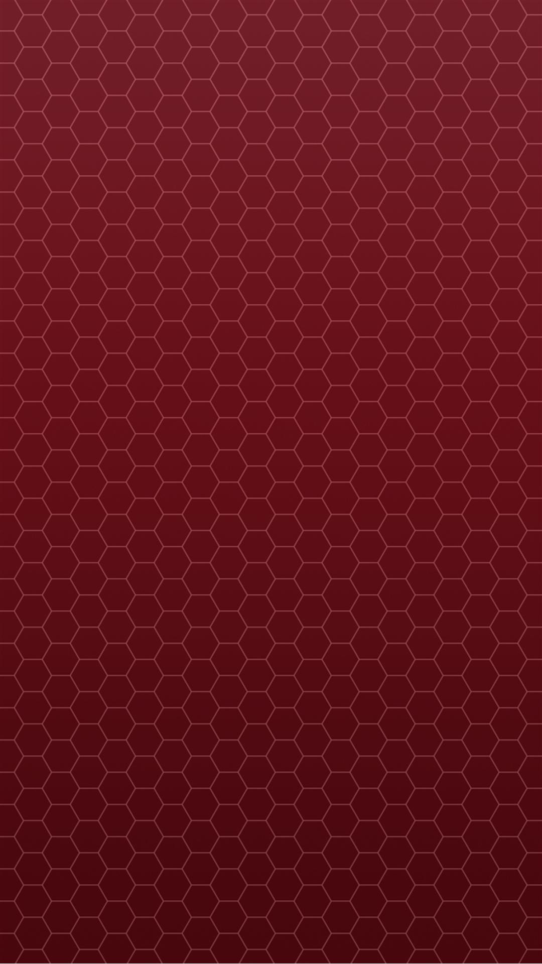 Honeycomb Red Pattern Android Wallpaper