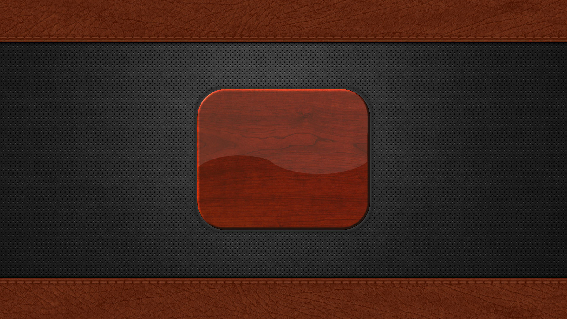 … Login Screen: Metal Holes, Leather and Wood by EricRobichaud73