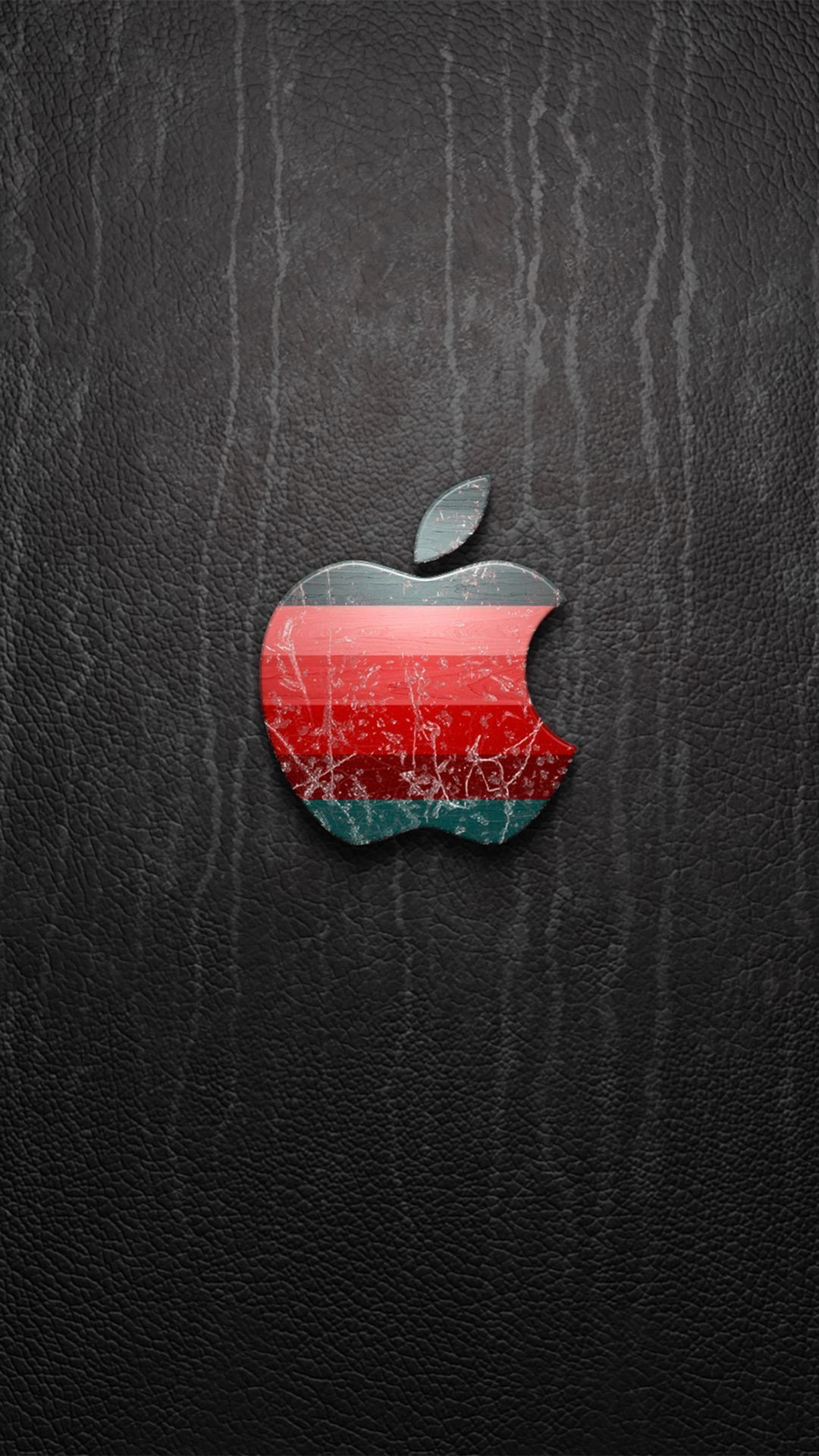 Apple Leather iPhone Wallpaper HD