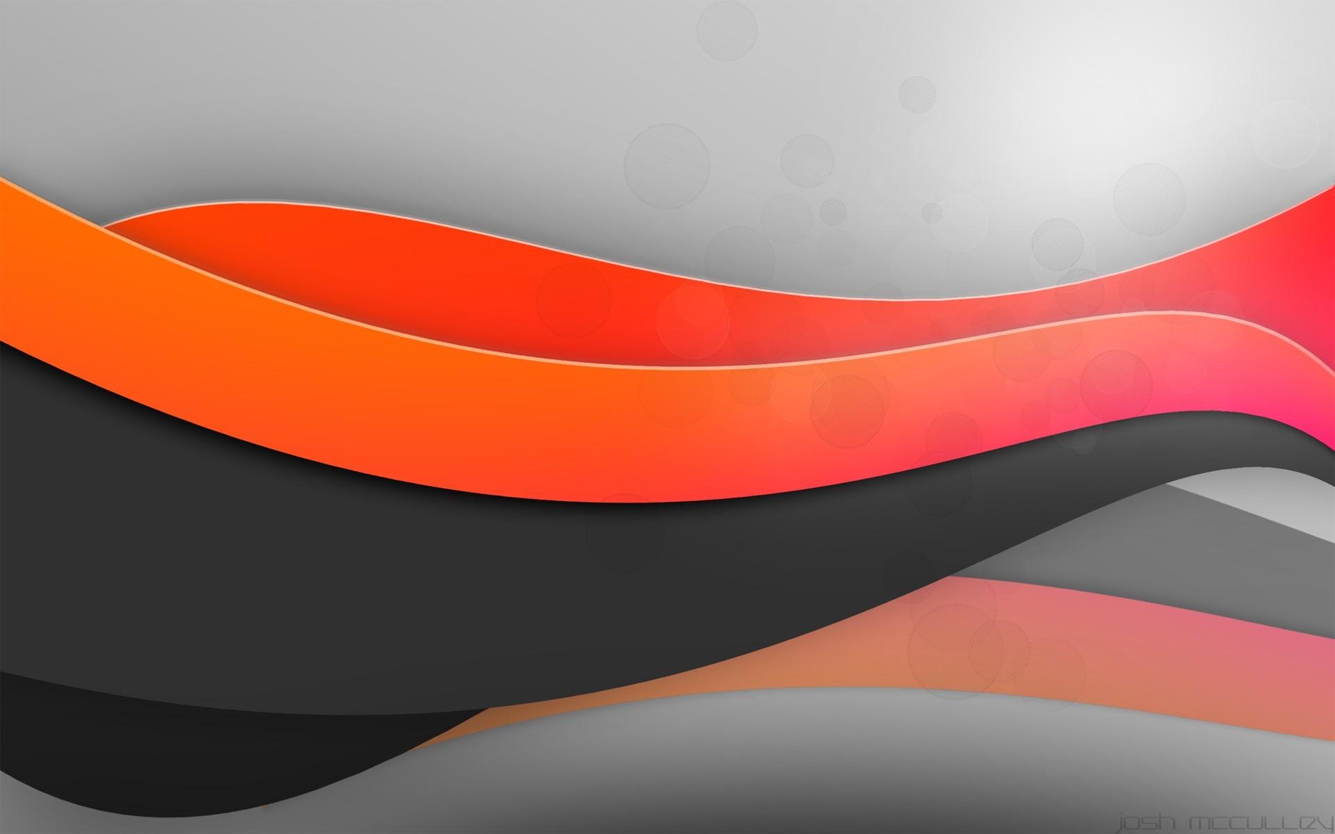 wallpaper abstract · orange