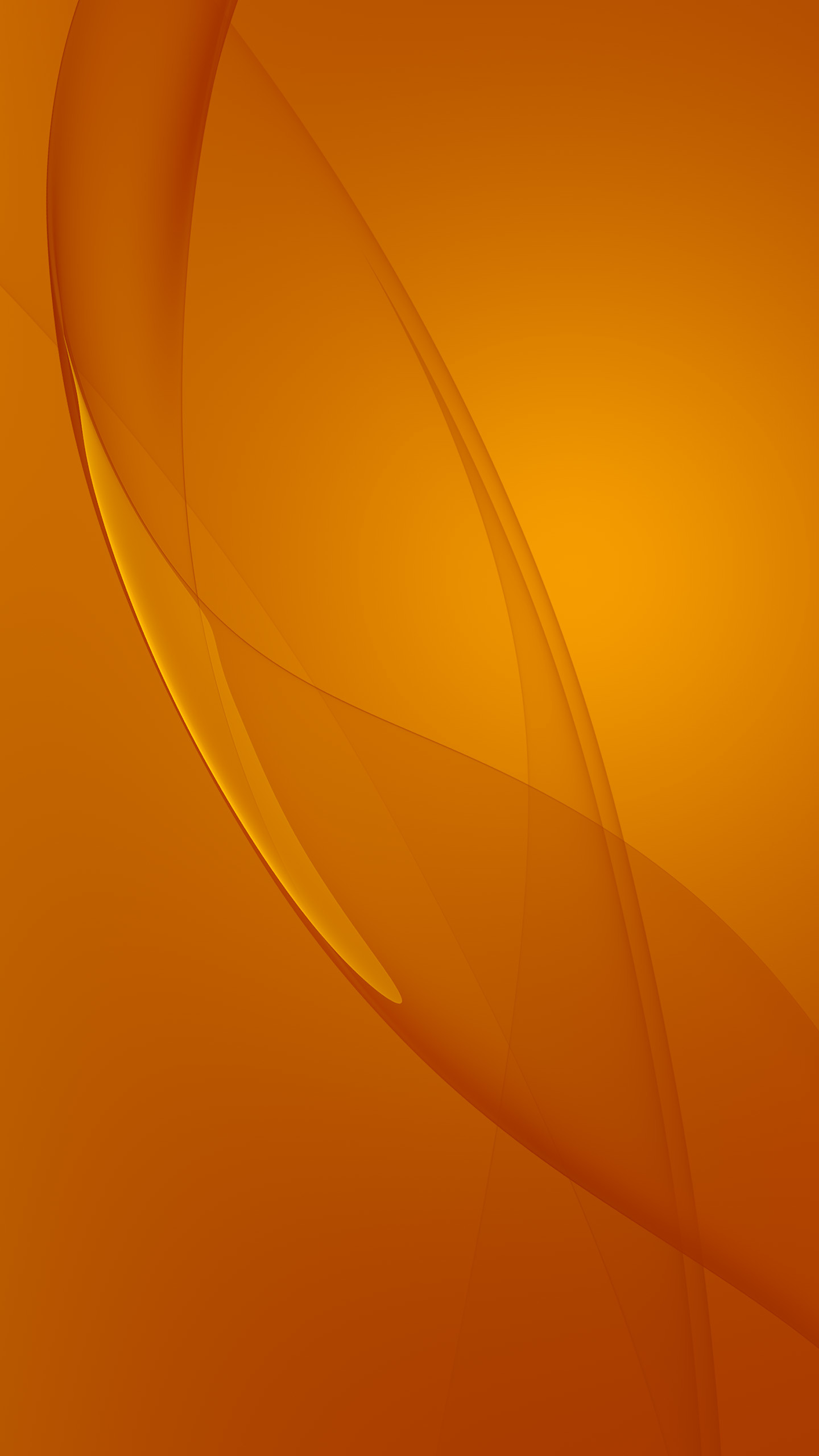 Exquisite orange abstract Galaxy S6 Wallpaper