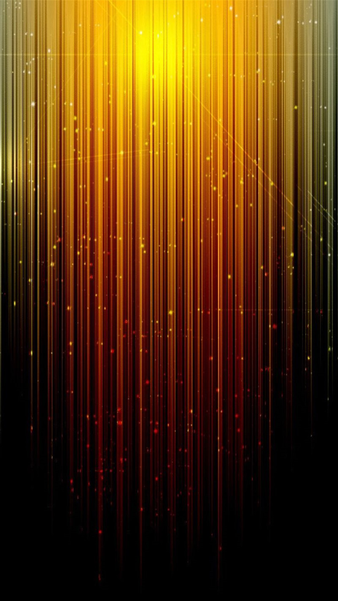Abstract Orange Rays Of Light Sparkles Android Wallpaper …