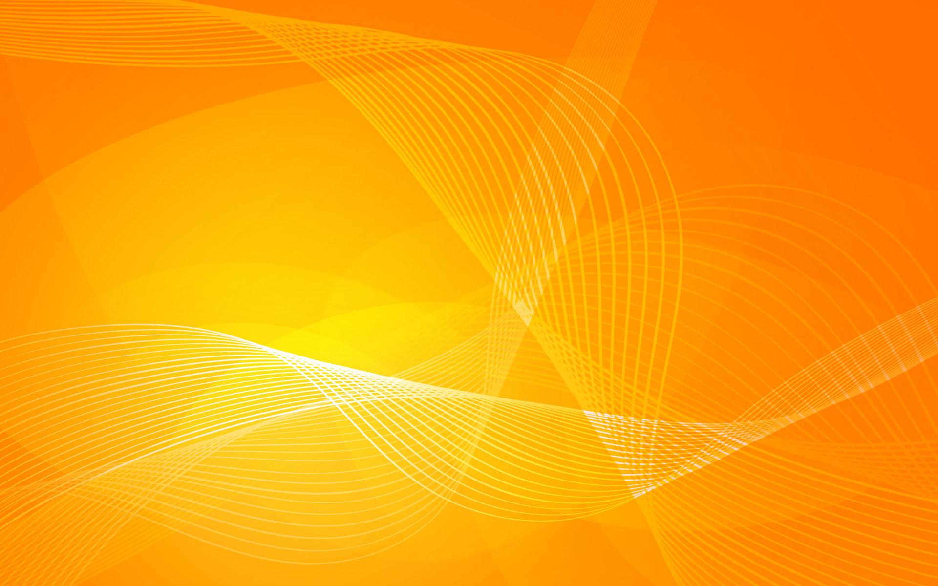 Orange Curves Wallpaper