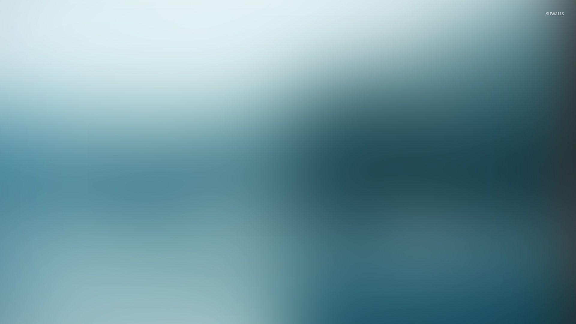 Light blue blur wallpaper